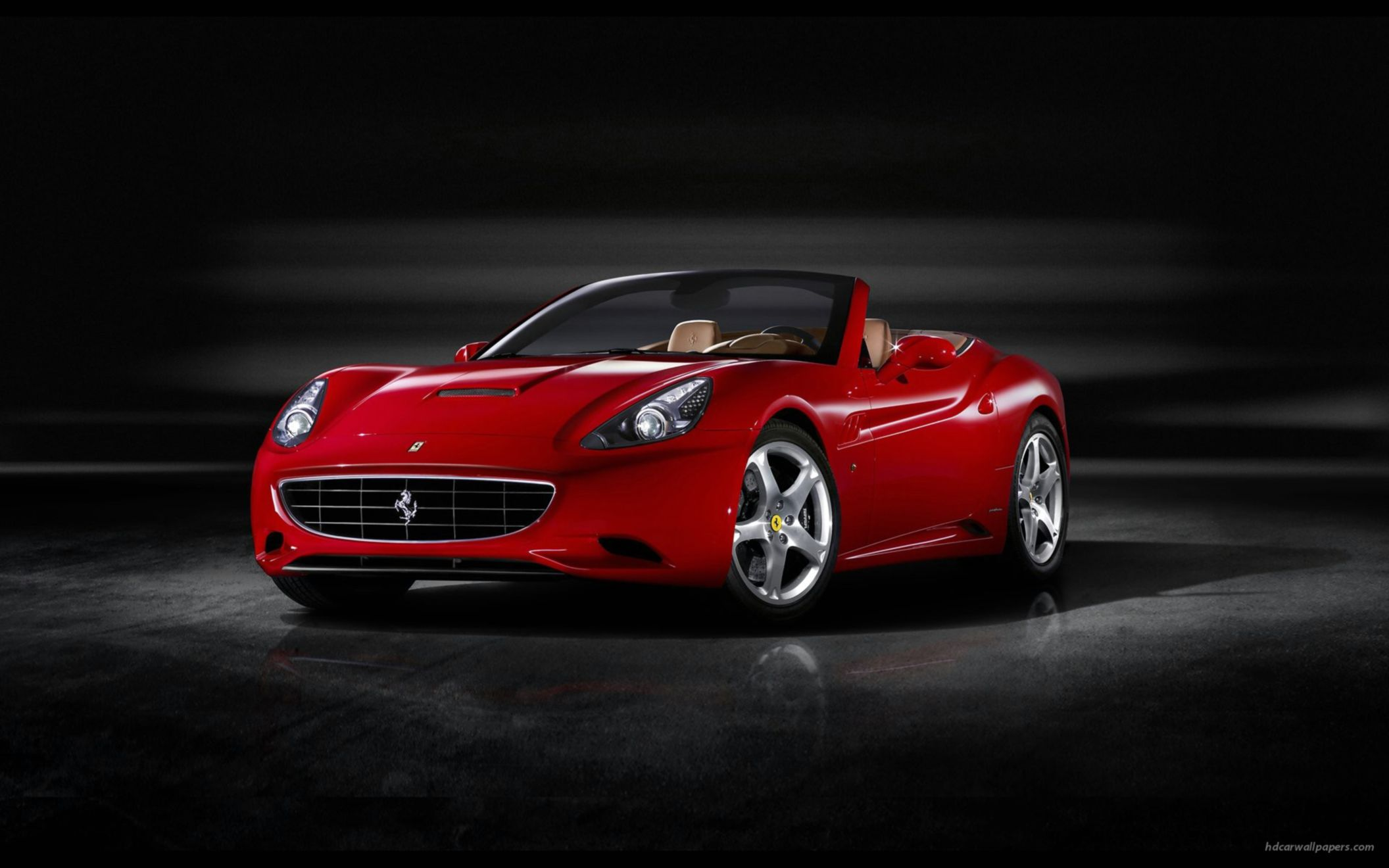 Download free HD 2009 Ferrari California 6 Wide Wallpaper, image