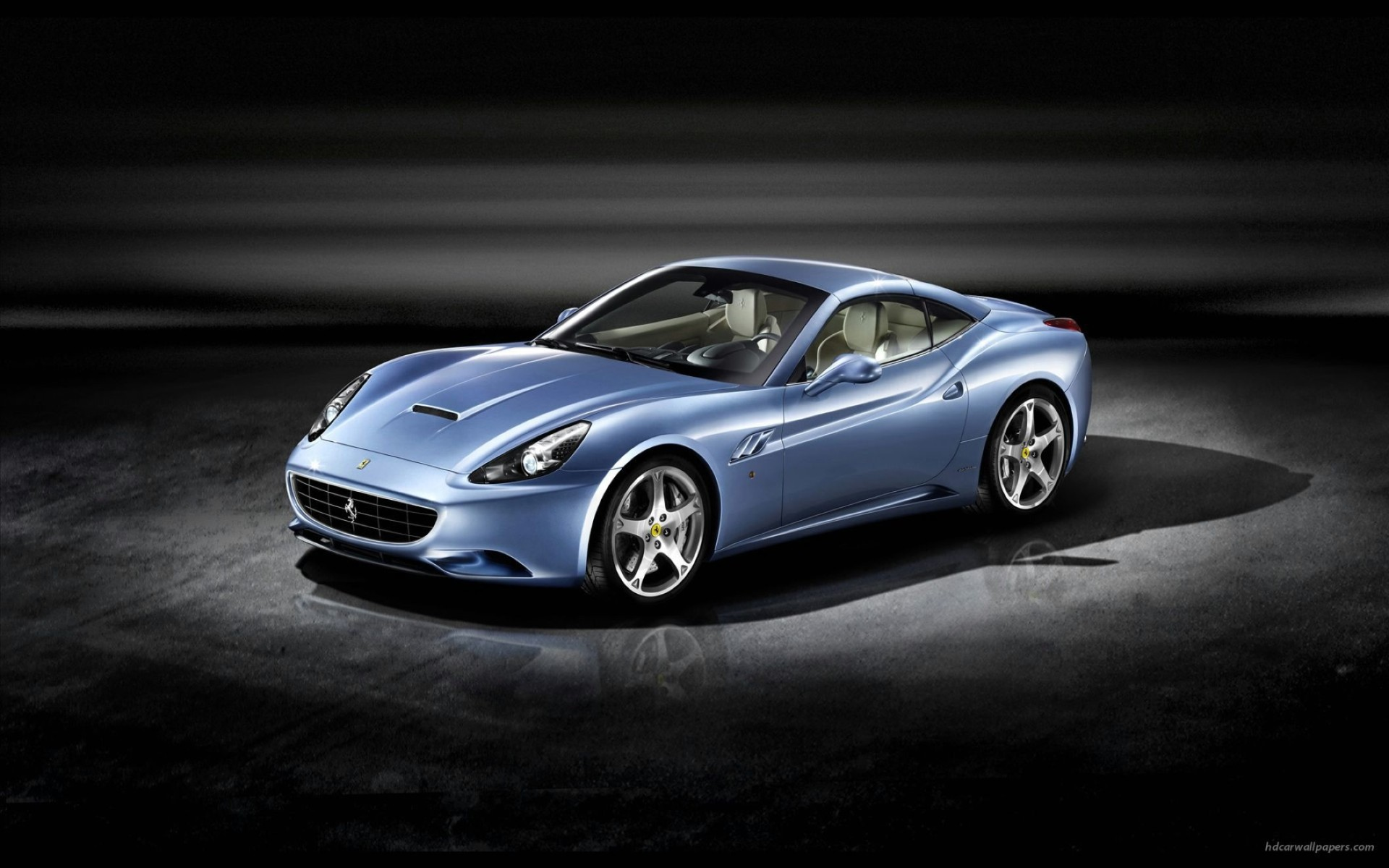 2009 Ferrari California Wide Wallpaper