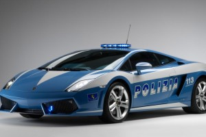 2009 Lamborghini Gallardo Lp560 Police Car Wide Wallpaper