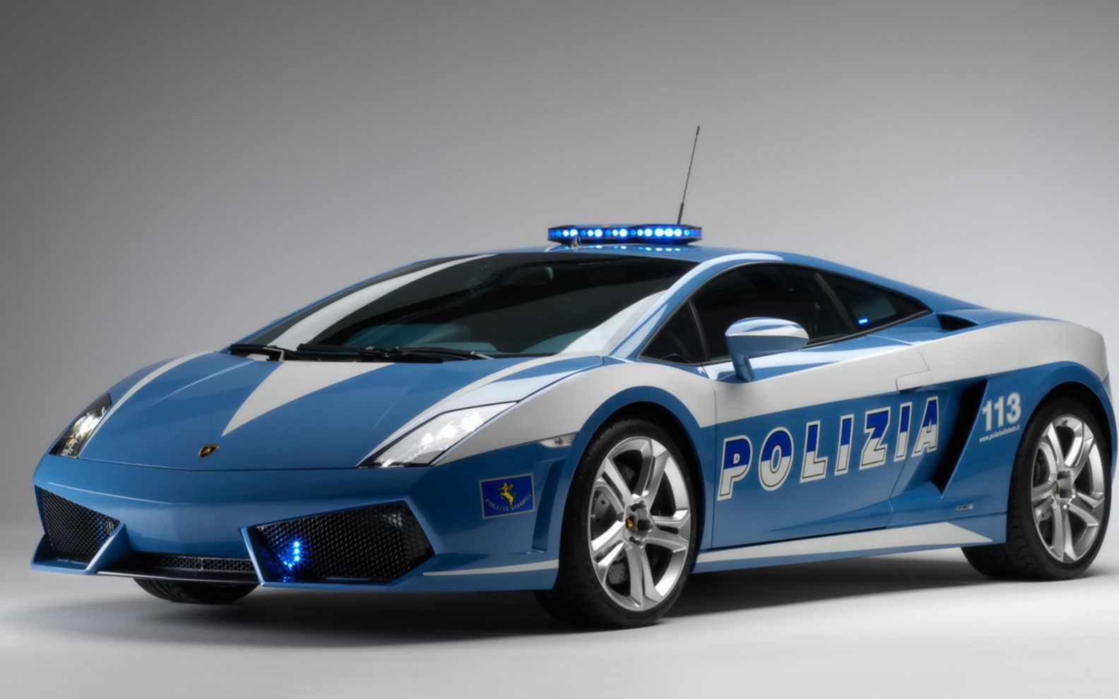 Download free HD 2009 Lamborghini Gallardo Lp560 Police Car Wide Wallpaper, image