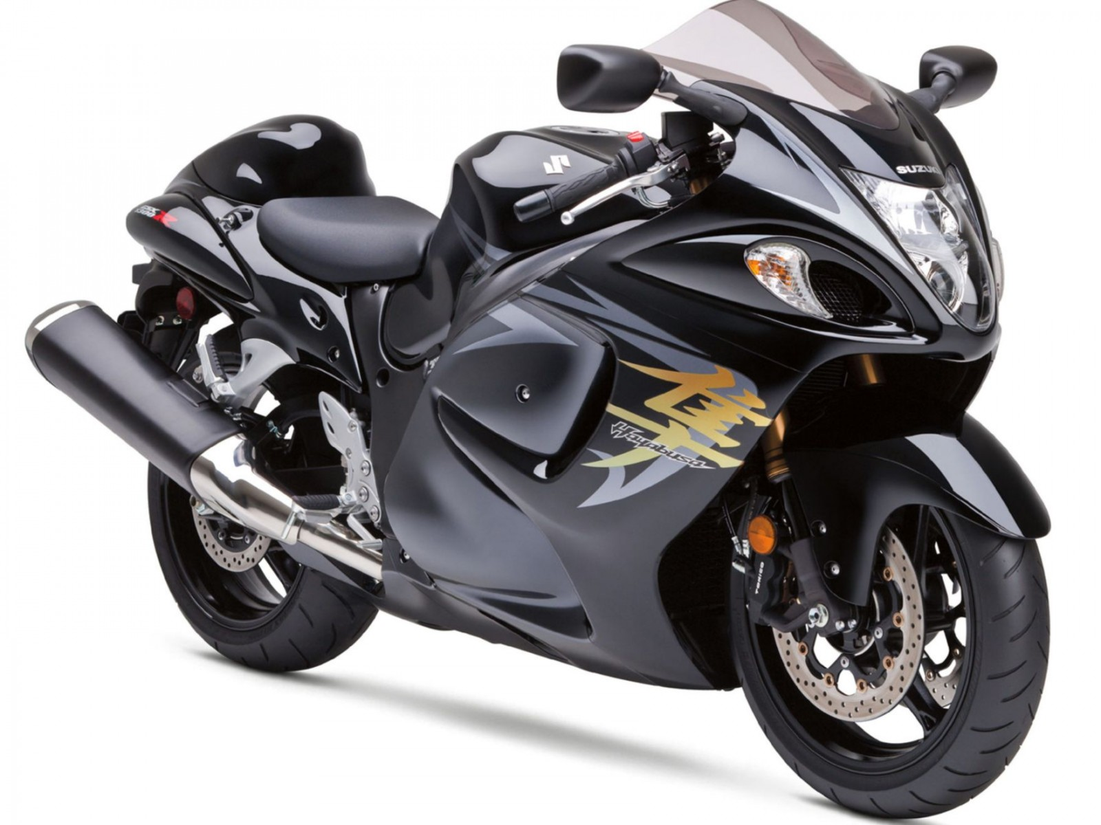 2009 Suzuki Hayabusa GSX 1300 R Normal Wallpaper