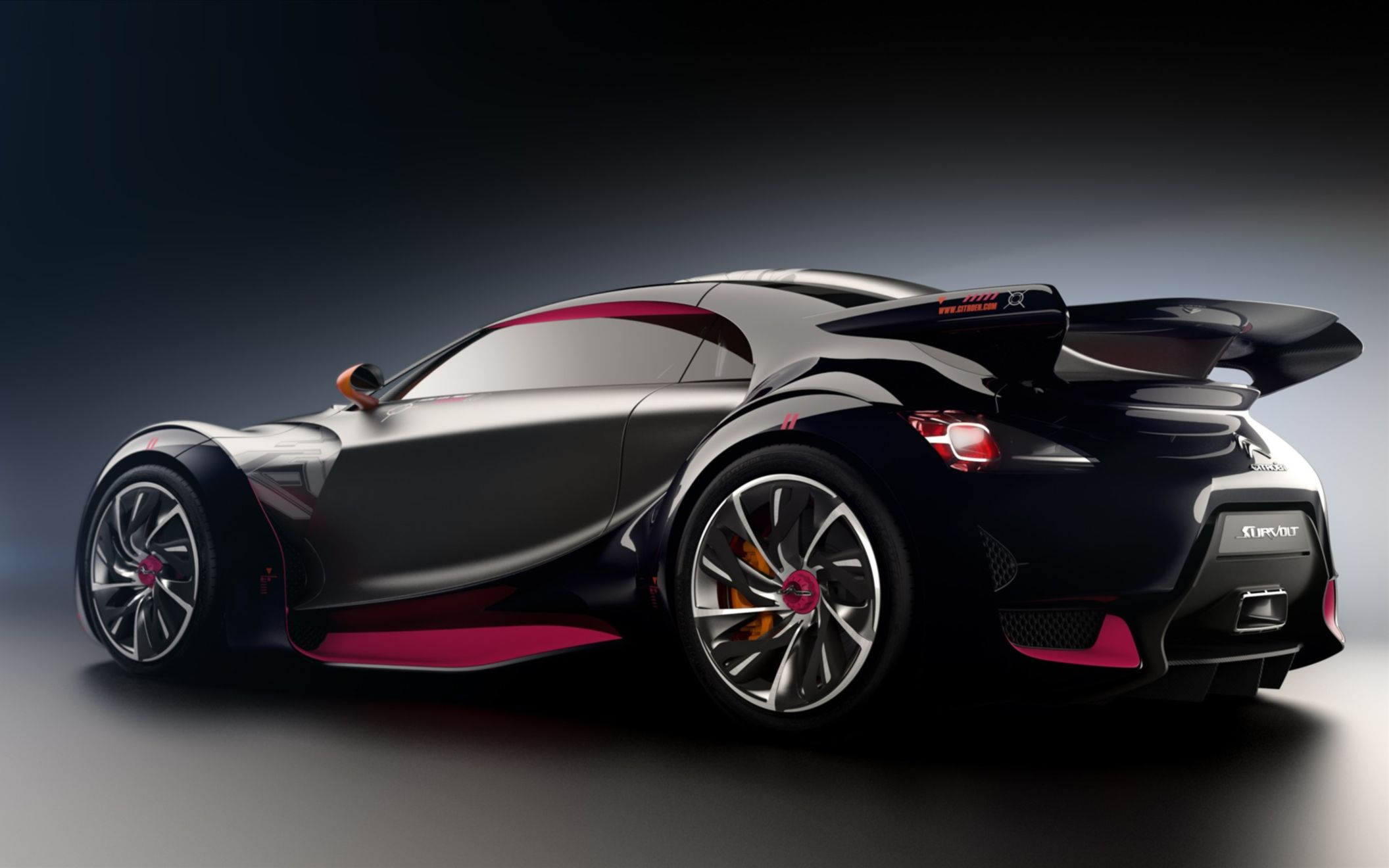 Download free HD 2010 Citroen Survolt Concept 2 Wide Wallpaper, image