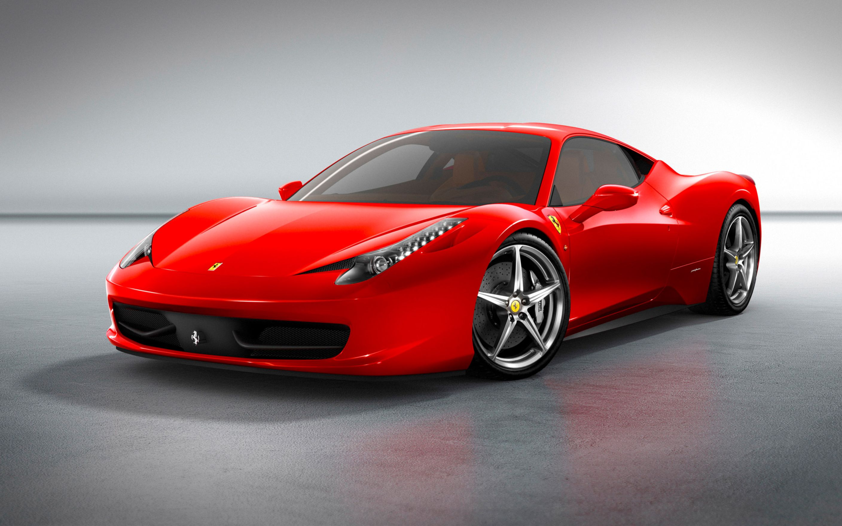 Download free HD 2010 Ferrari 458 Italia Wide Wallpaper, image