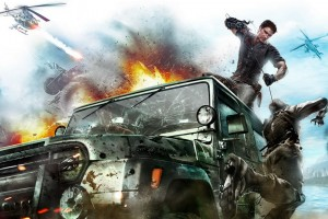 2010 Just Cause 2 Game Wide Wallpaper