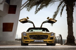 Download 2010 Mercedes Benz Sls Amg Desert Gold 2 Wide Wallpaper Free Wallpaper on dailyhdwallpaper.com