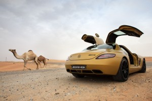 Download 2010 Mercedes Benz Sls Amg Desert Gold 8 Wide Wallpaper Free Wallpaper on dailyhdwallpaper.com