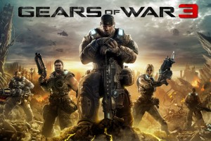 2011 Gears of War 3 Wide Wallpaper