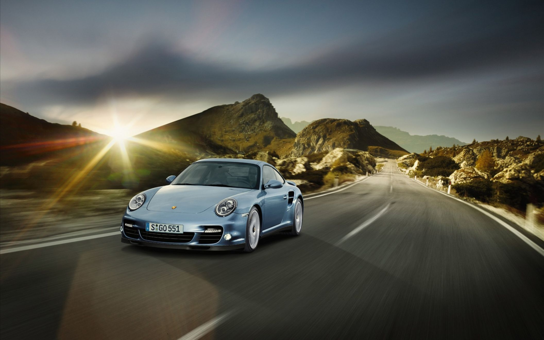 Download free HD 2011 Porsche 911 Turbo S Wide Wallpaper, image