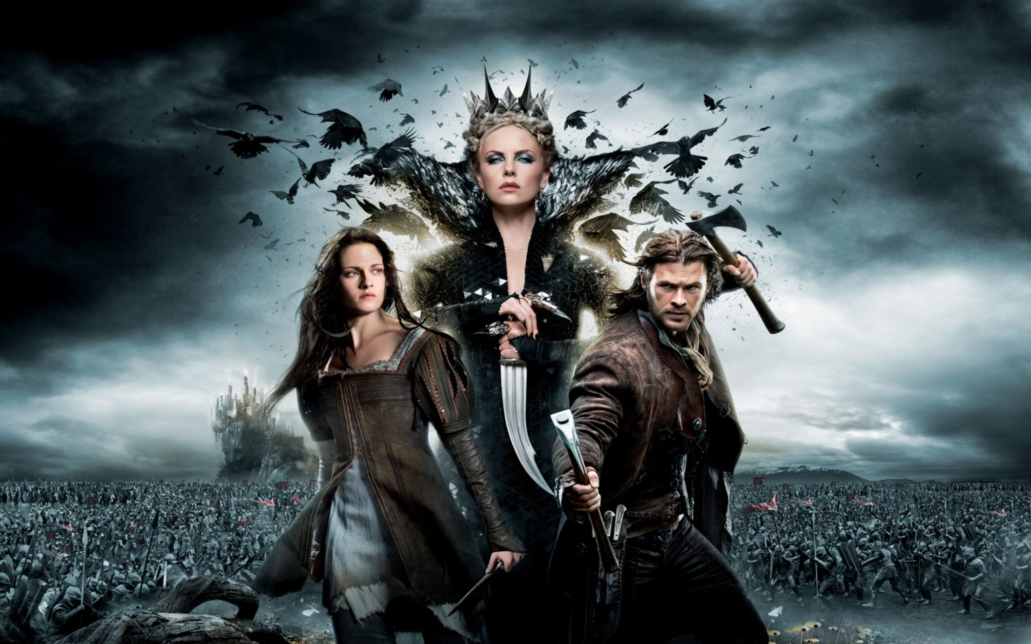 Download free HD 2012 Snow White The Huntsman Wide Wallpaper, image