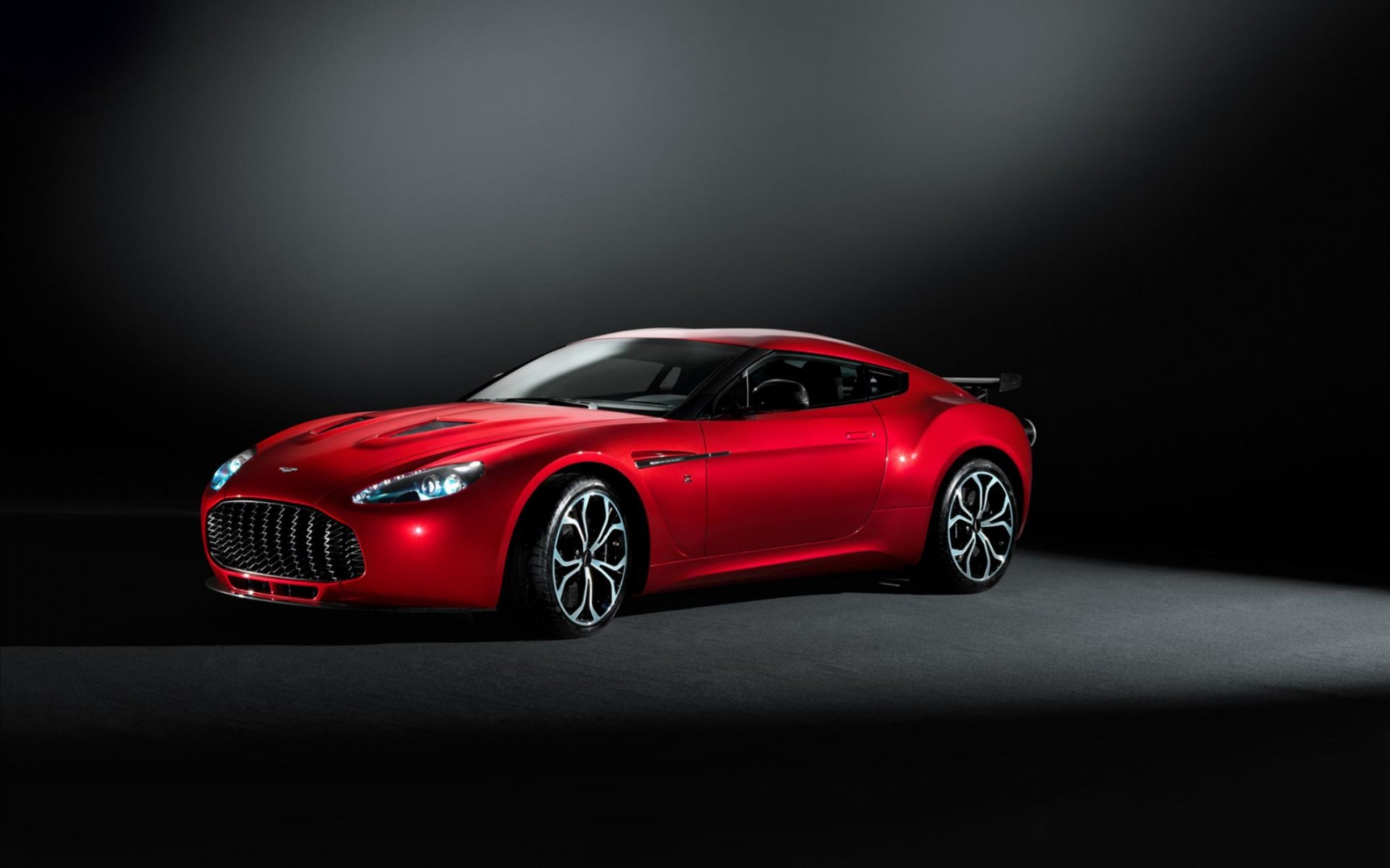 2013 Aston Martin V12 Zagato Wide Wallpaper