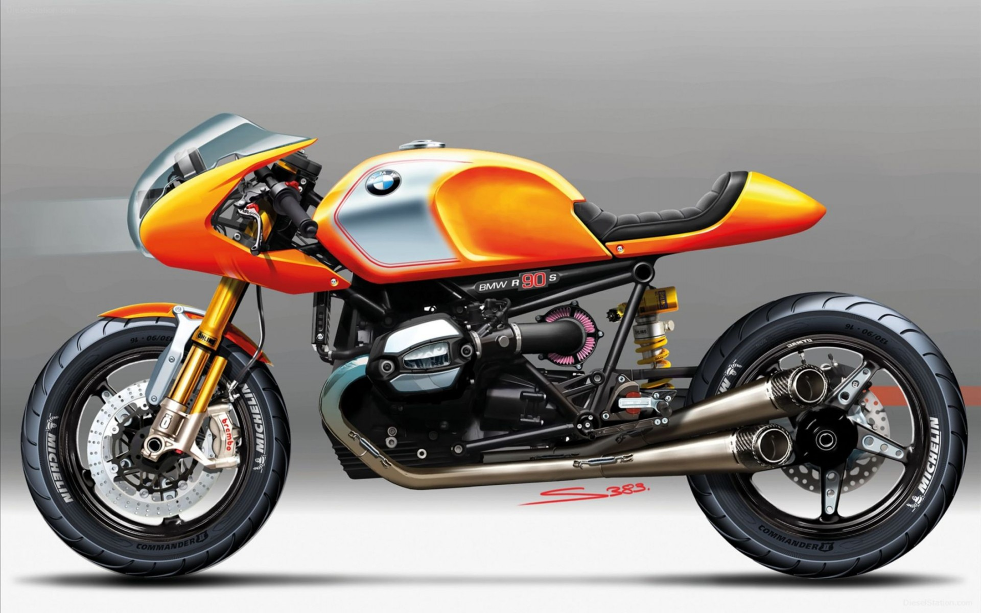 2013 BMW Concept Ninety Wide Wallpaper