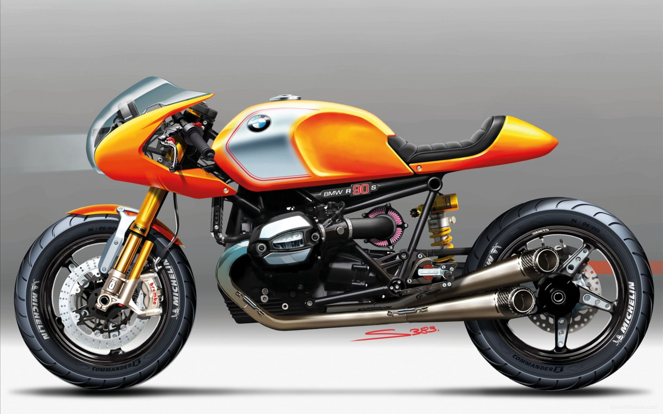 Download free HD 2013 BMW Concept Ninety Wide Wallpaper, image
