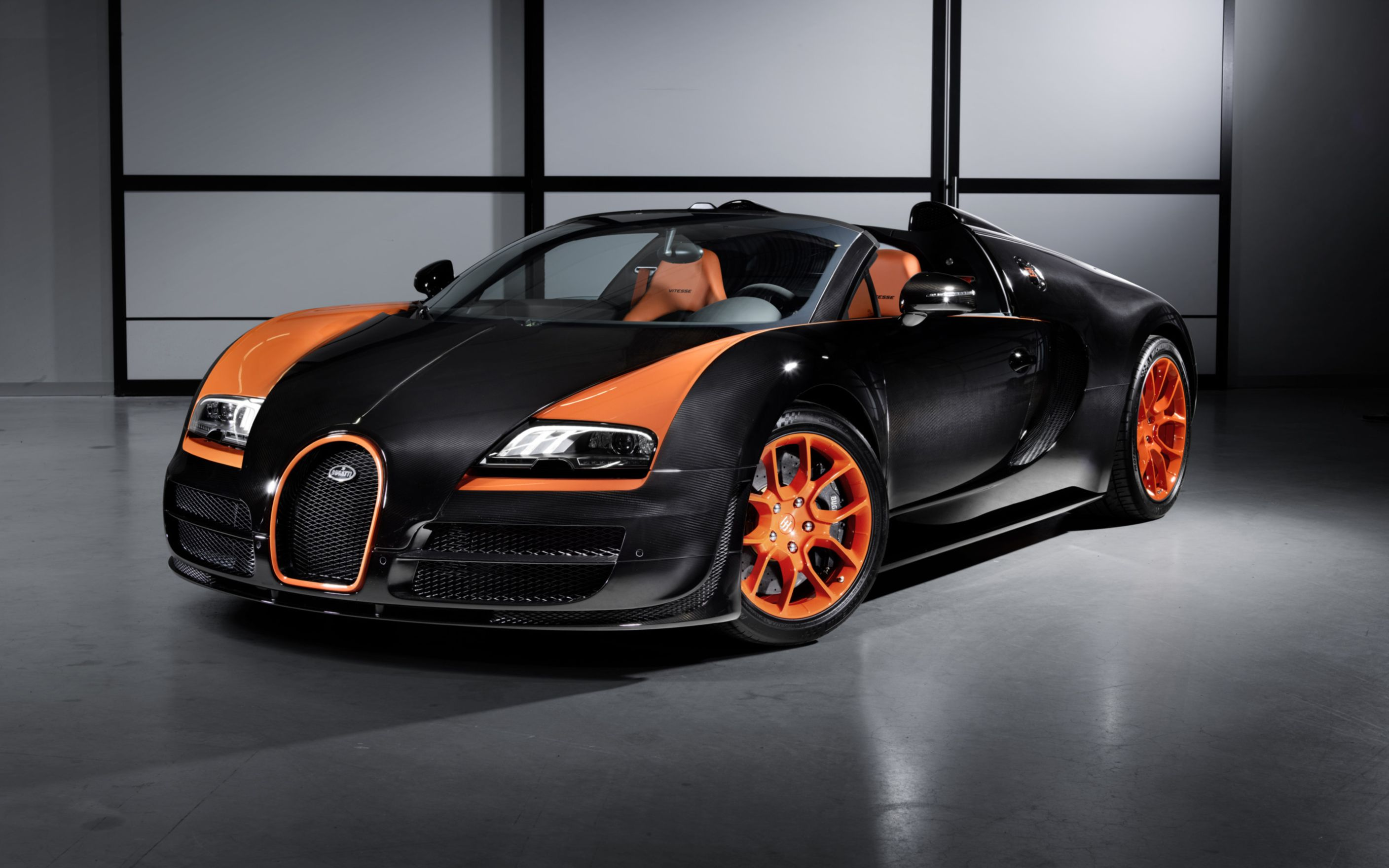 Download free HD 2013 Bugatti Veyron 16 4 Grand Sport Vitesse Wide Wallpaper, image