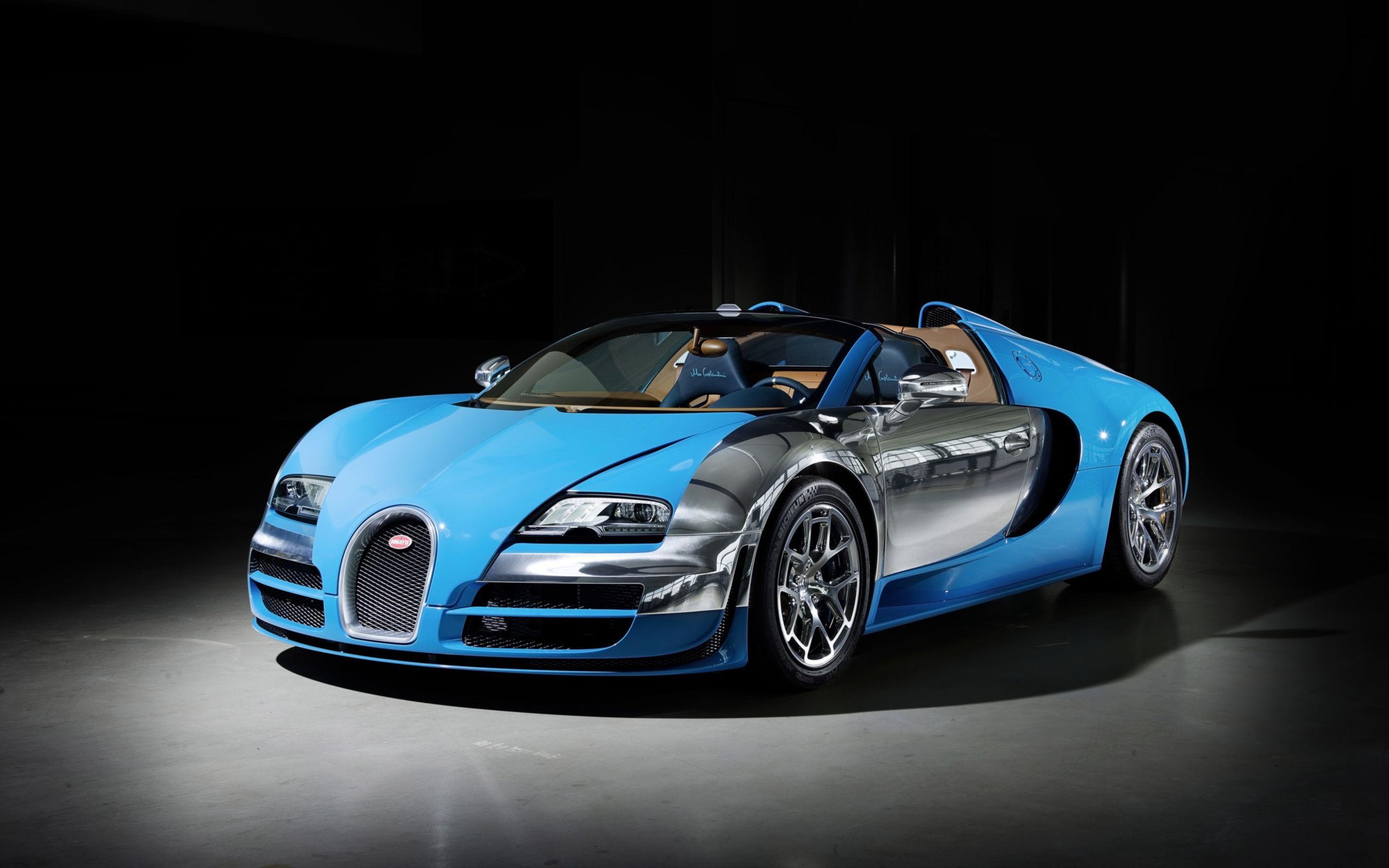 Download free HD 2013 Bugatti Veyron Grand Sport Vitesse Wide Wallpaper, image