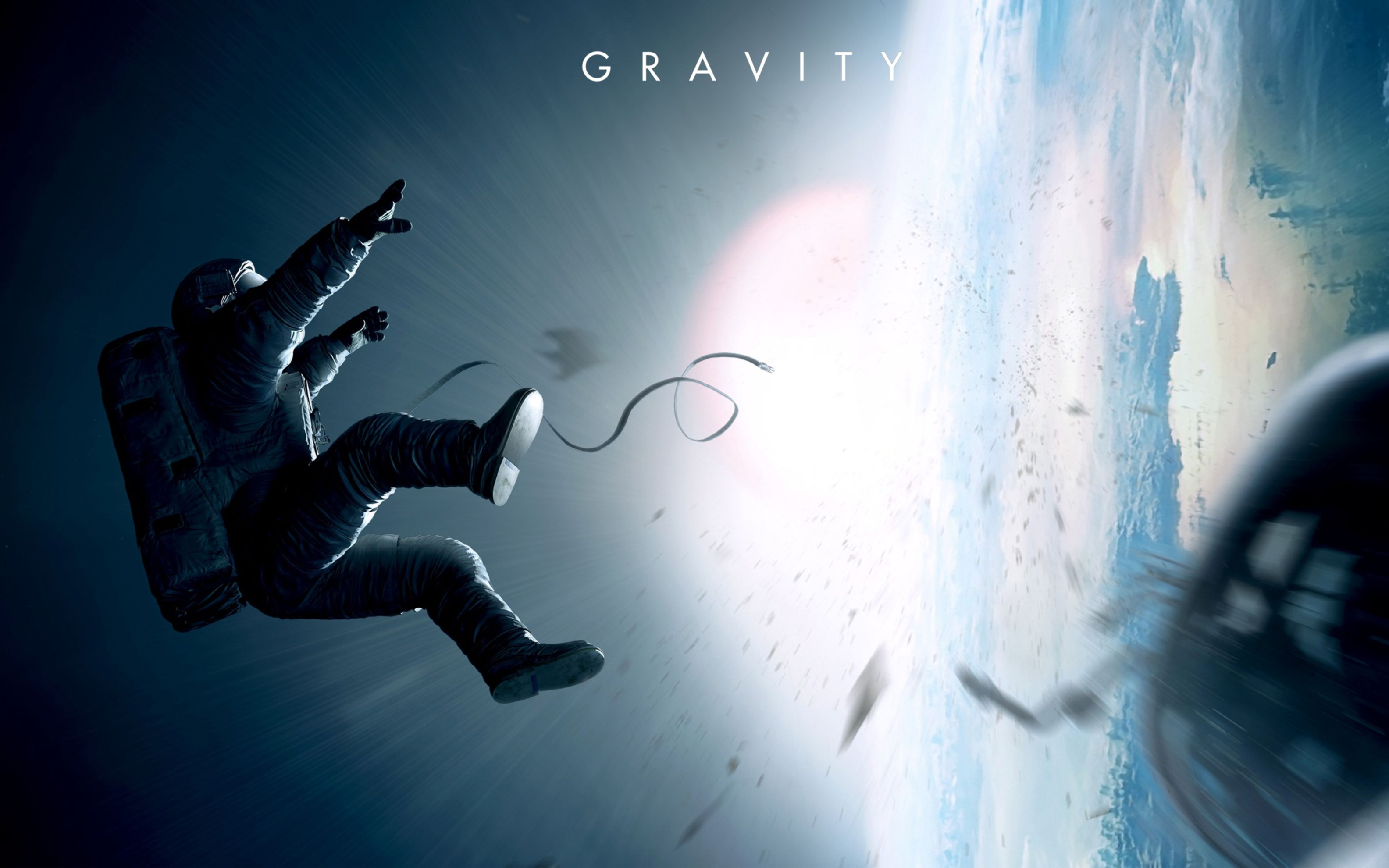 Download free HD 2013 Gravity Movie Wide Wallpaper, image