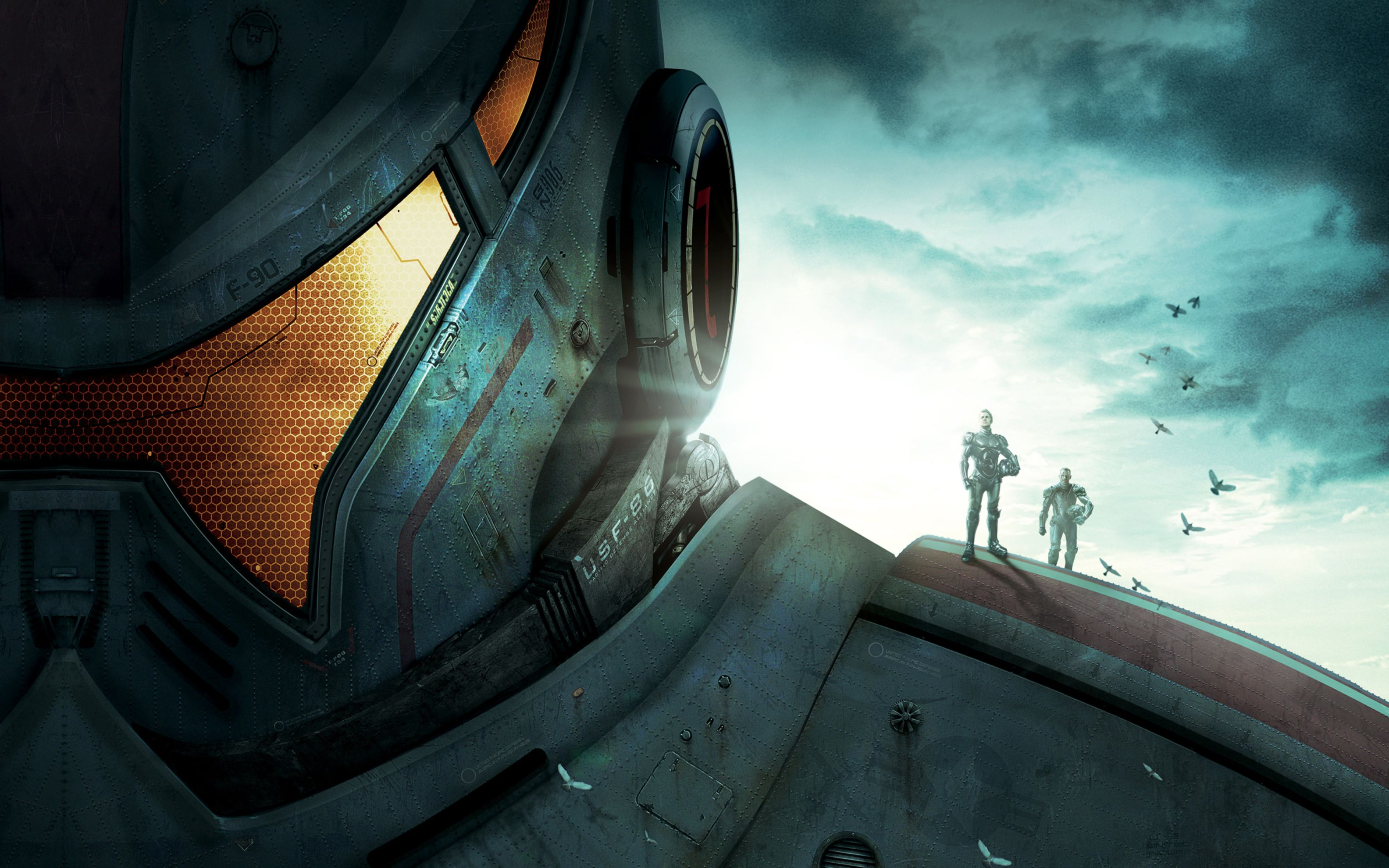 Download free HD 2013 Pacific Rim Wide Wallpaper, image