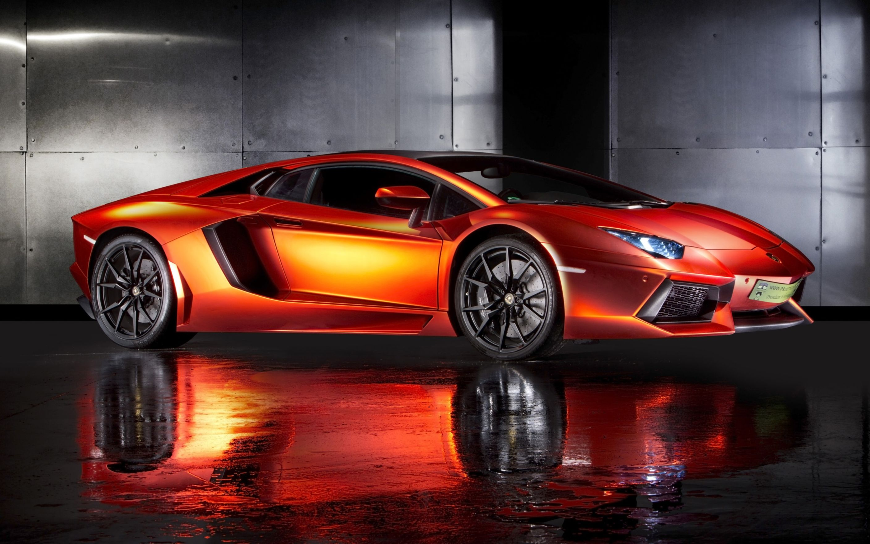 Download free HD 2013 Print Tech Lamborghini Aventador Wide Wallpaper, image