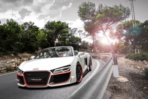 Download 2014 Audi R8 V10 Spyder Regula Tuning Wide Wallpaper Free Wallpaper on dailyhdwallpaper.com