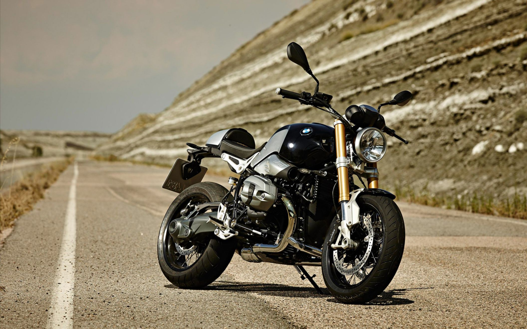 Download free HD 2014 BMW R Ninet Wide Wallpaper, image
