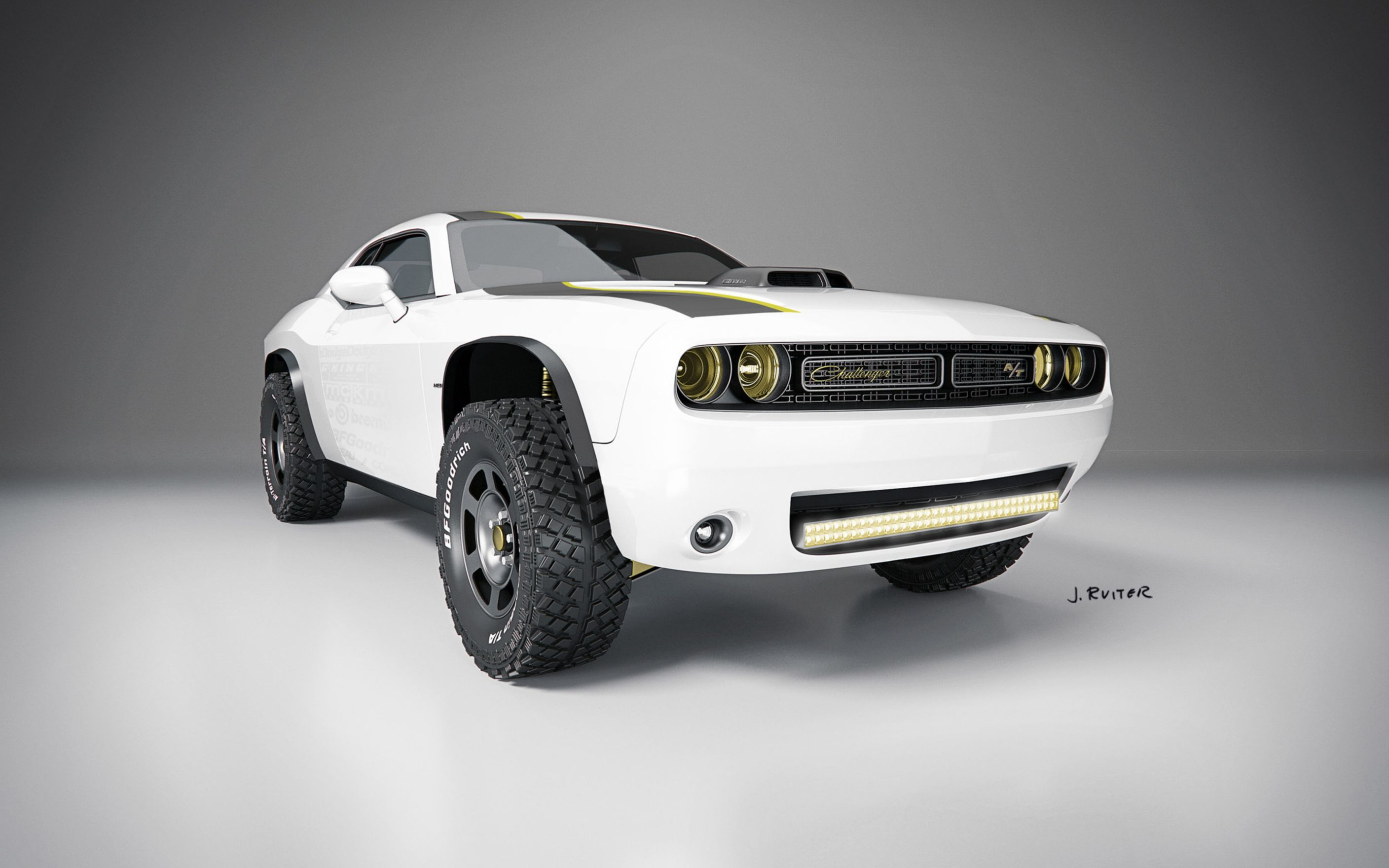 Download free HD 2014 Dodge Challenger AT Untamed Concept Wide Wallpaper, image