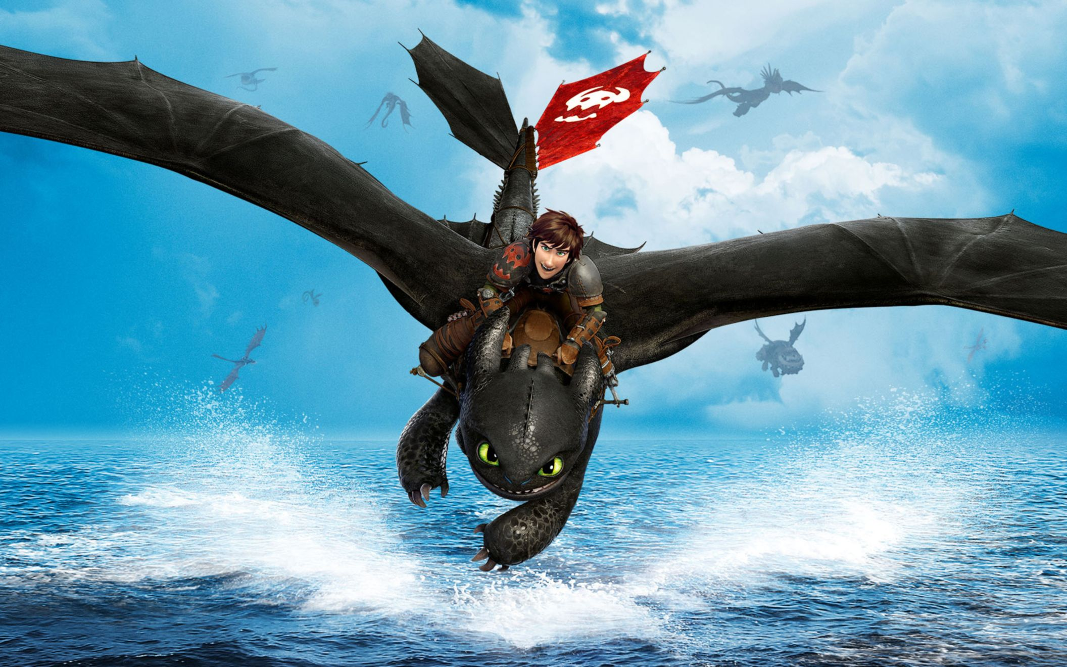 Download free HD 2014 How To Train Your Dragon 2 Wide Wallpaper, image