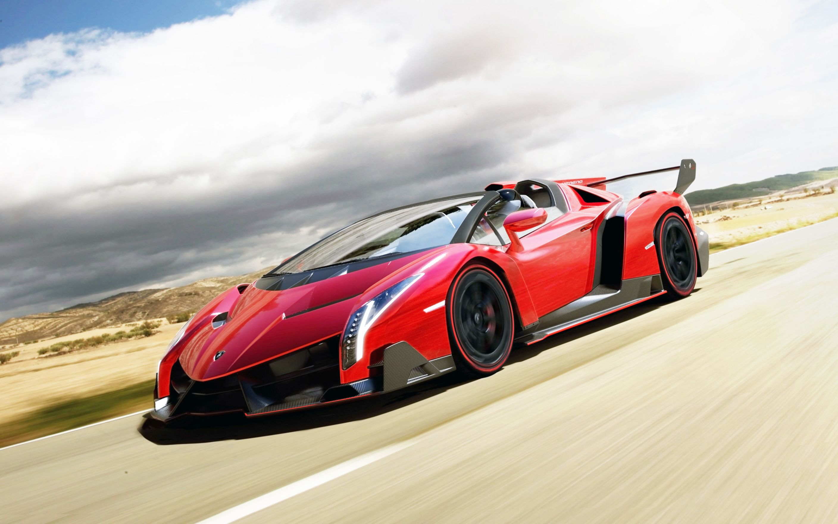 Download free HD 2014 Lamborghini Veneno Roadster Wide Wallpaper, image