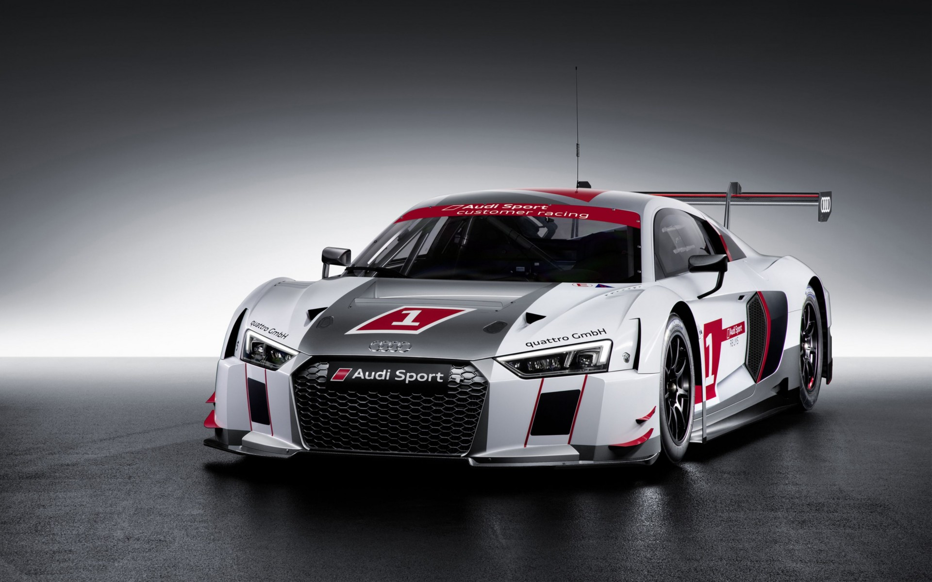 2015 Audi R8 Lms Wide Wallpaper