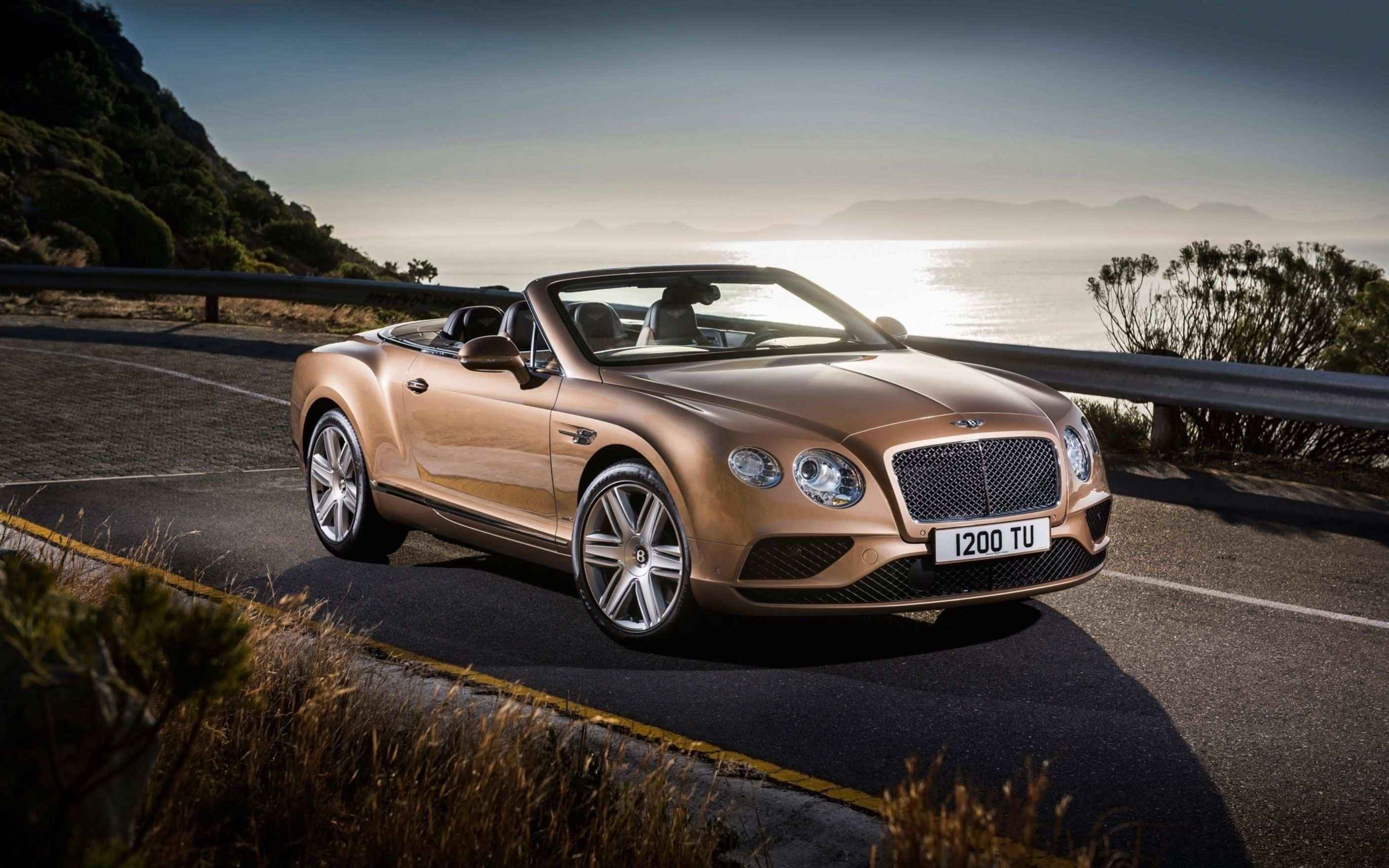 Download free HD 2015 Bentley Continental GT Convertible Wide Wallpaper, image