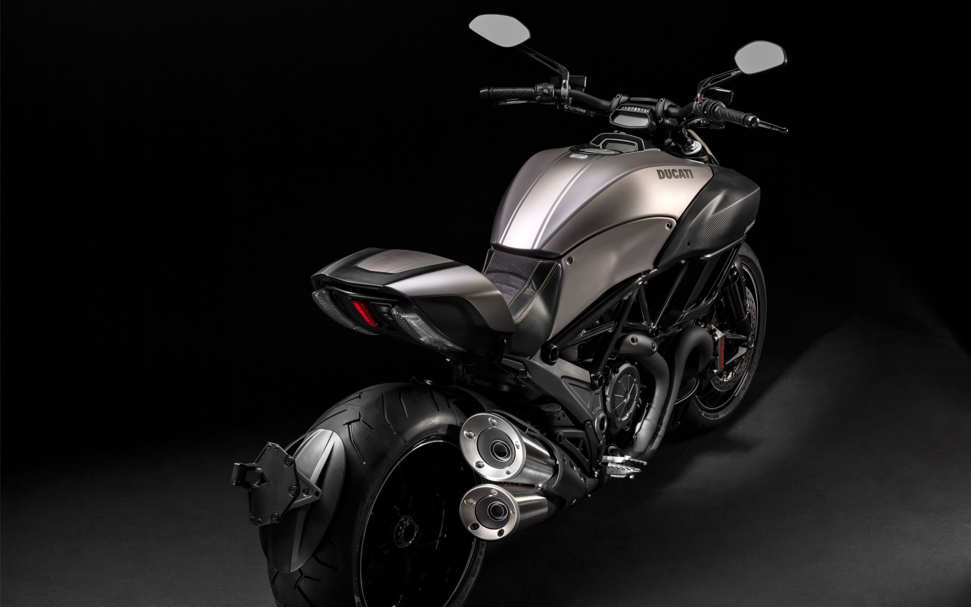 Download free HD 2015 Ducati Diavel Titanium Wide Wallpaper, image