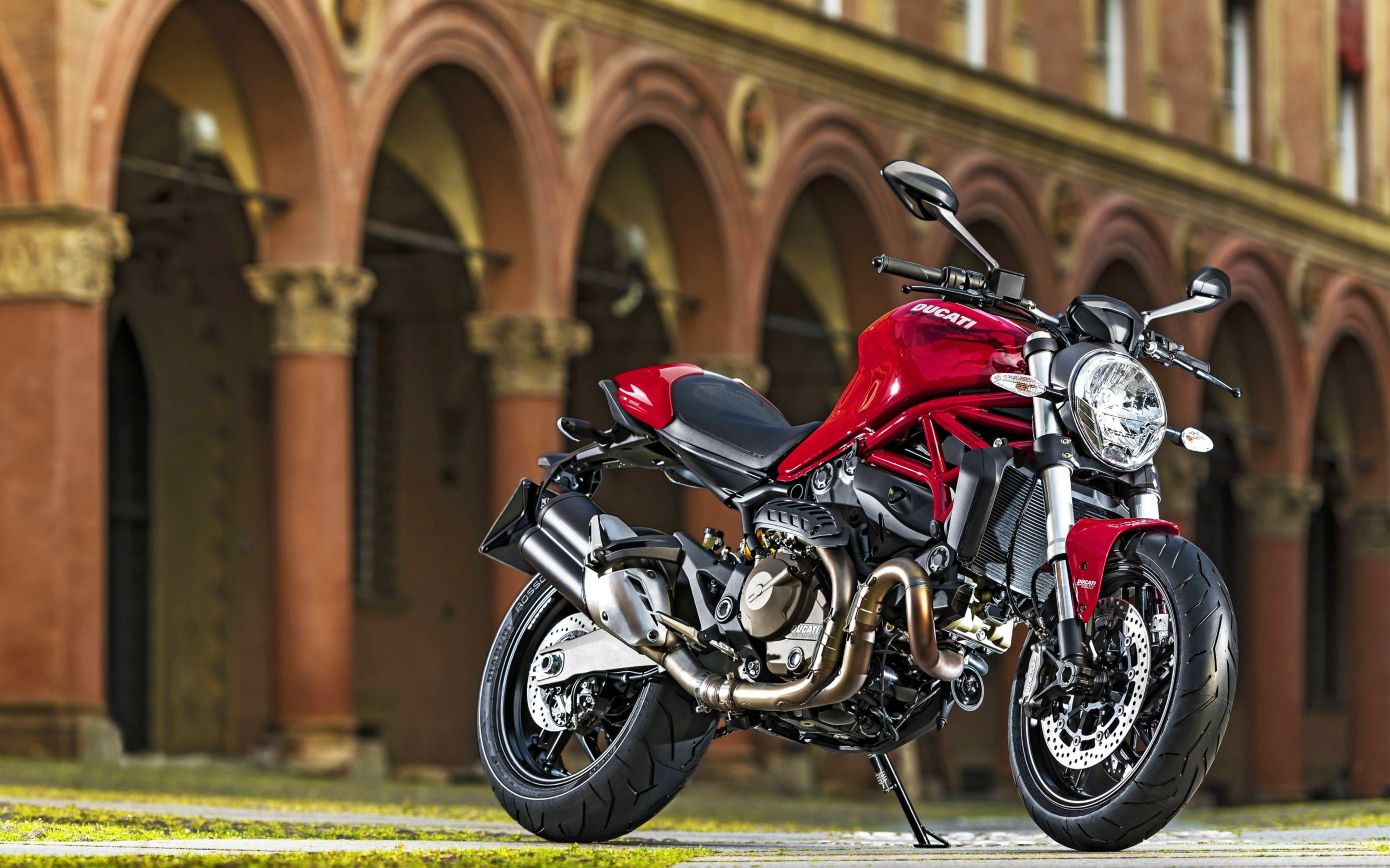 Download free HD 2015 Ducati Monster 821 Wide Wallpaper, image