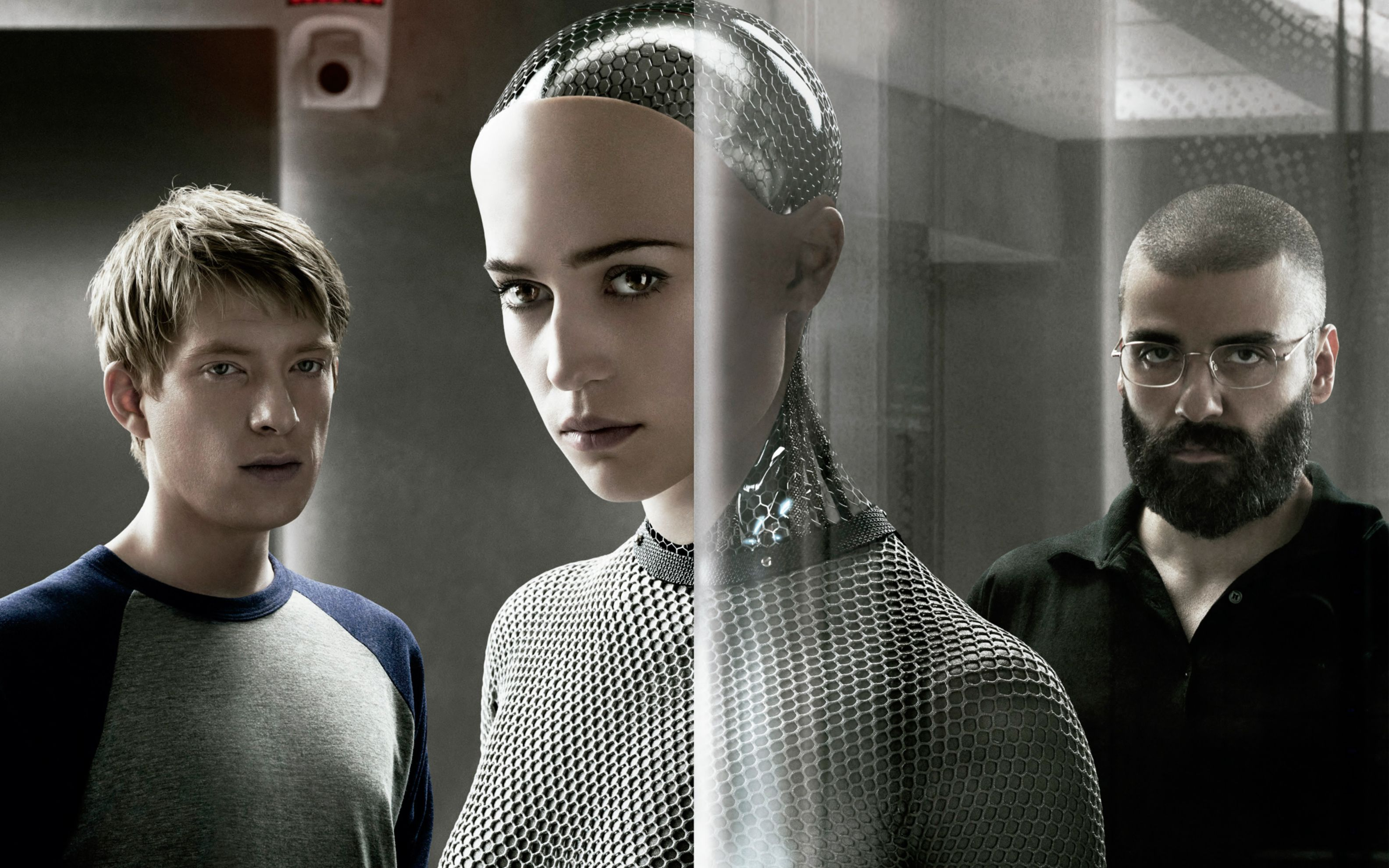 Download free HD 2015 Ex Machina Wide Wallpaper, image