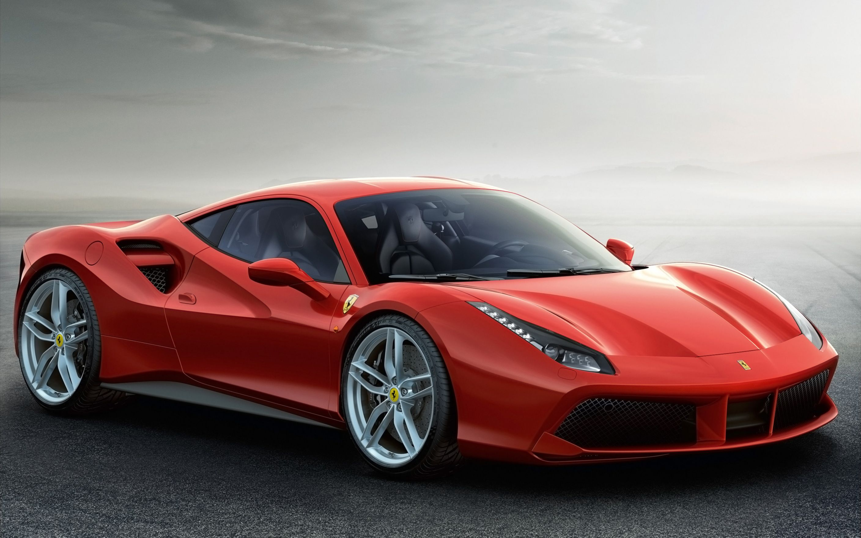 Download free HD 2015 Ferrari 488 Gtb Wide Wallpaper, image