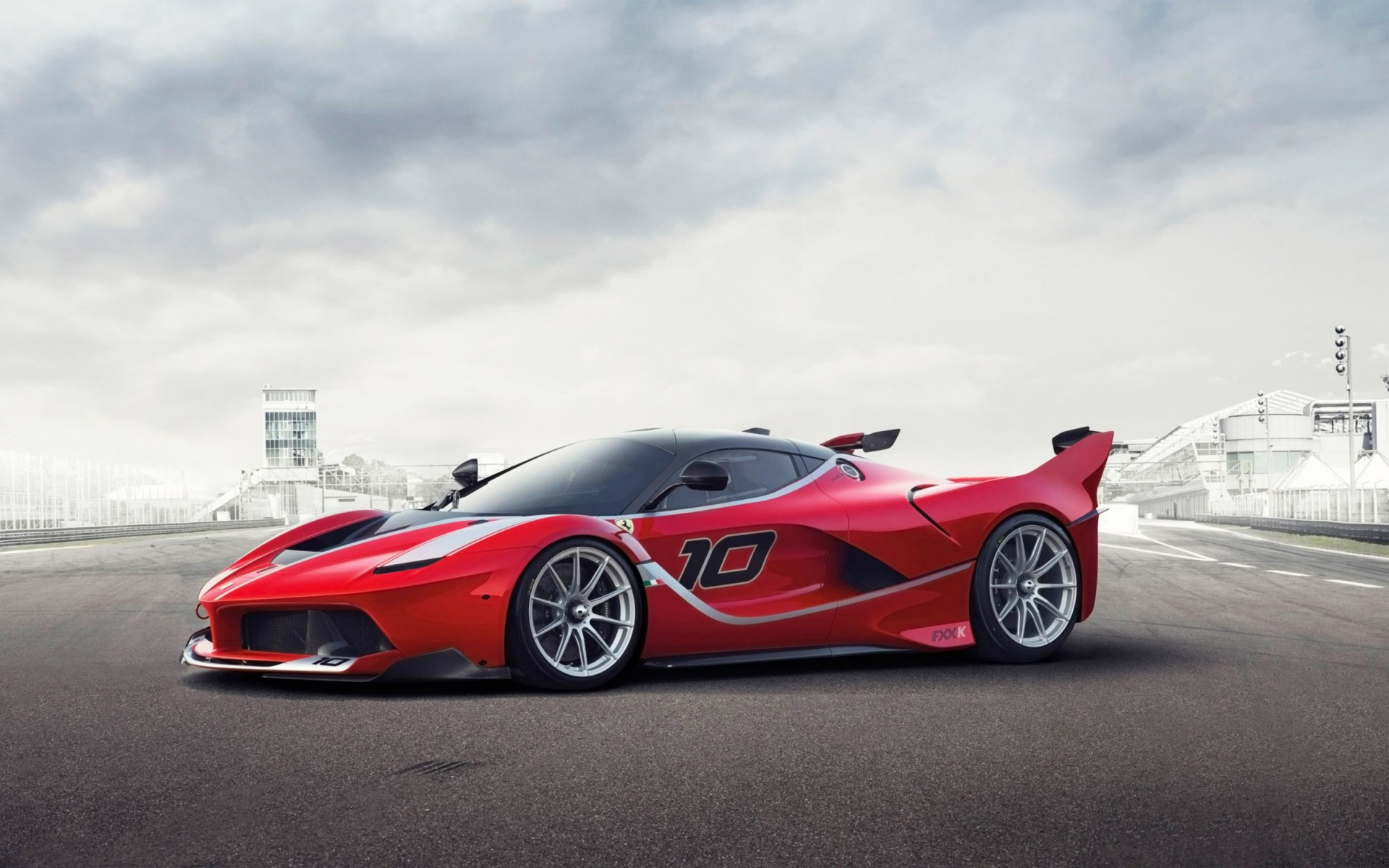 2015 Ferrari FXX K Wide Wallpaper