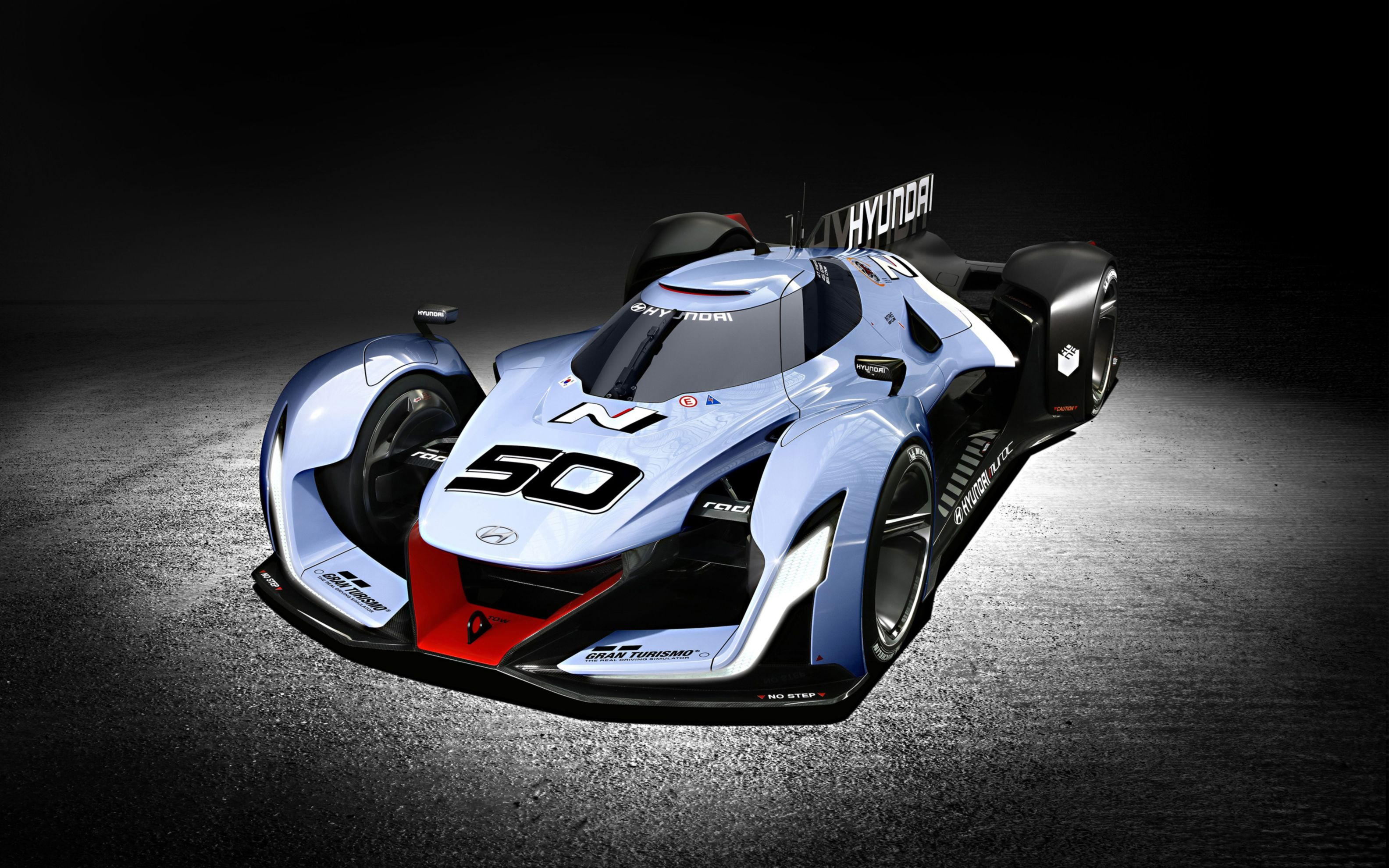 Download free HD 2015 Hyundai N 2025 Vision Gran Turismo Wide Wallpaper, image
