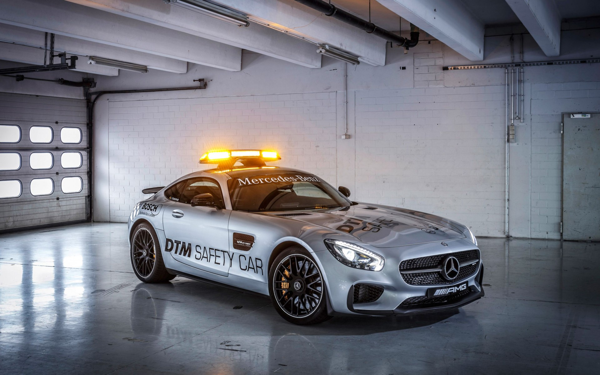2015 Mercedes Amg Gt S Safety Car Wide Wallpaper