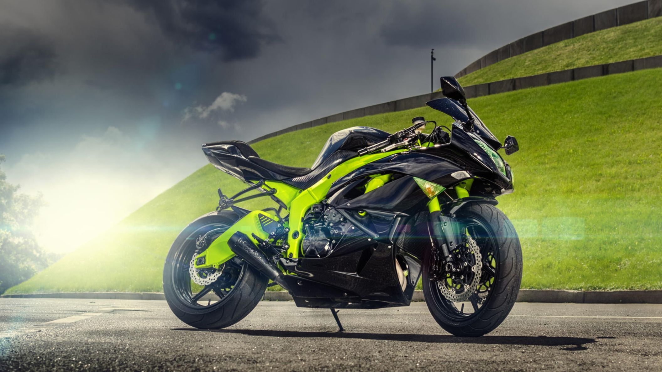 Download free HD 2015 Ninja ZX 6R HD Wallpaper, image