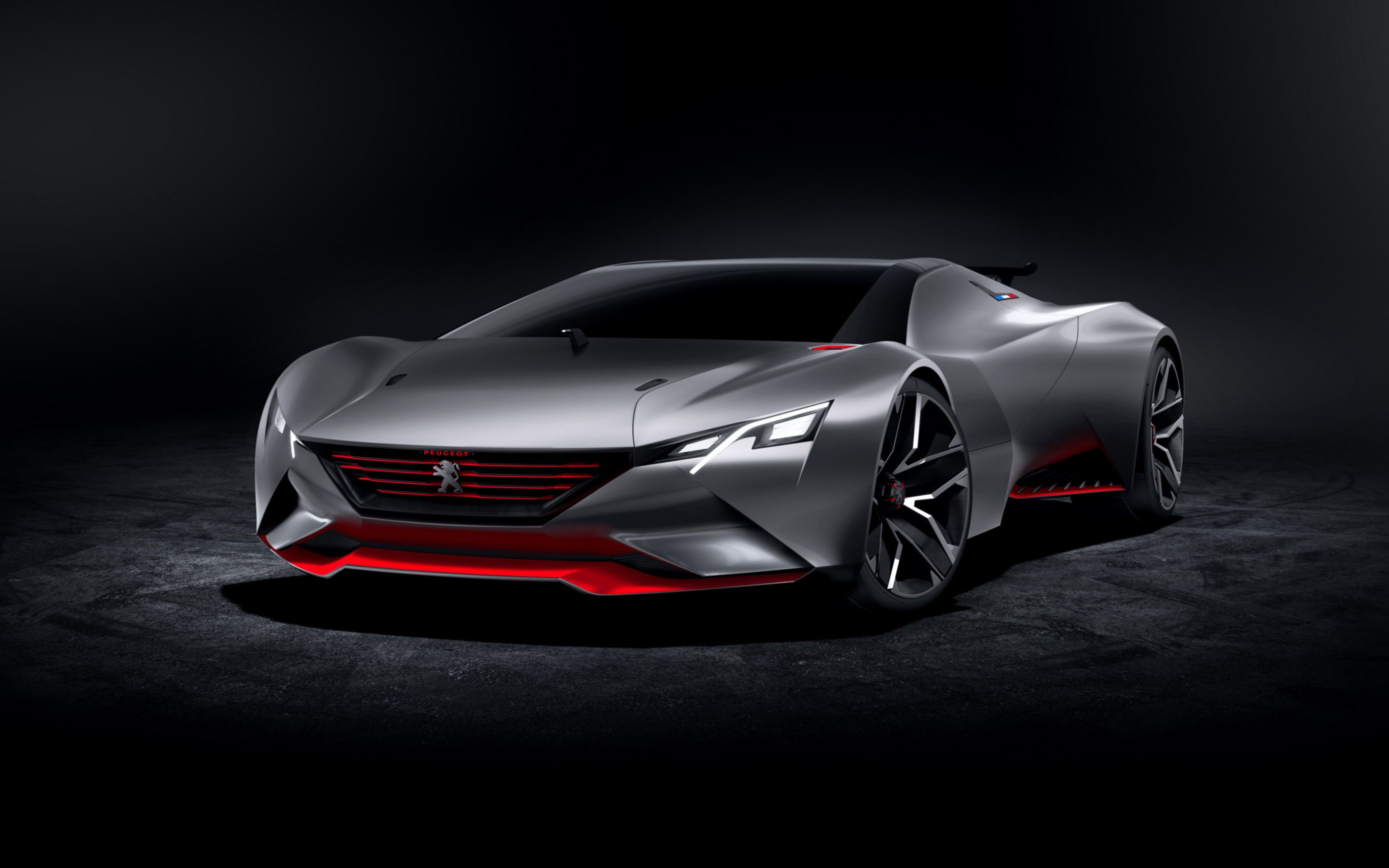 Download free HD 2015 Peugeot Vision Gran Turismo Wide Wallpaper, image