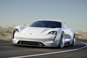2015 Porsche Mission E Wide Wallpaper