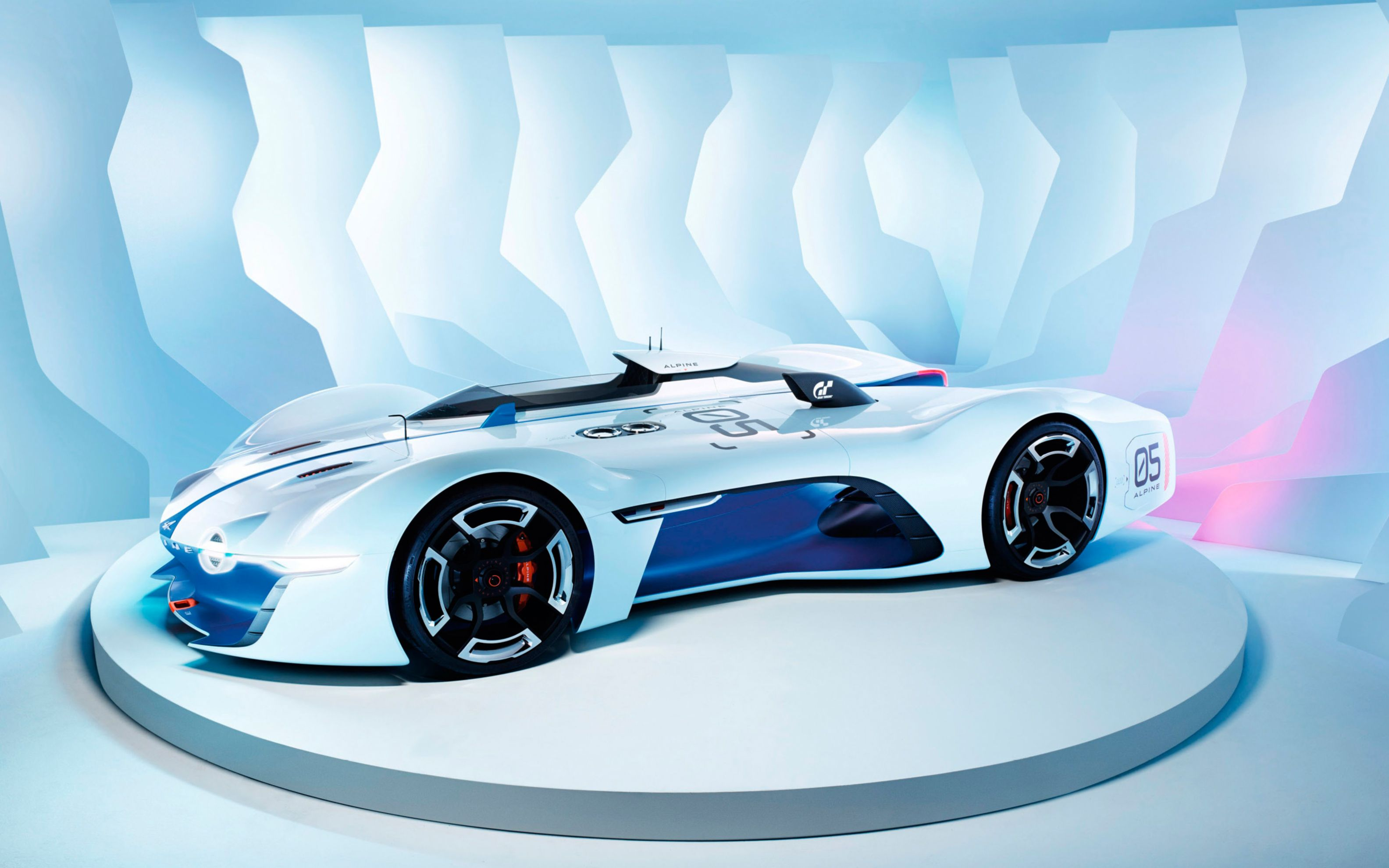 Download free HD 2015 Renault Alpine Vision Gran Turismo Wide Wallpaper, image