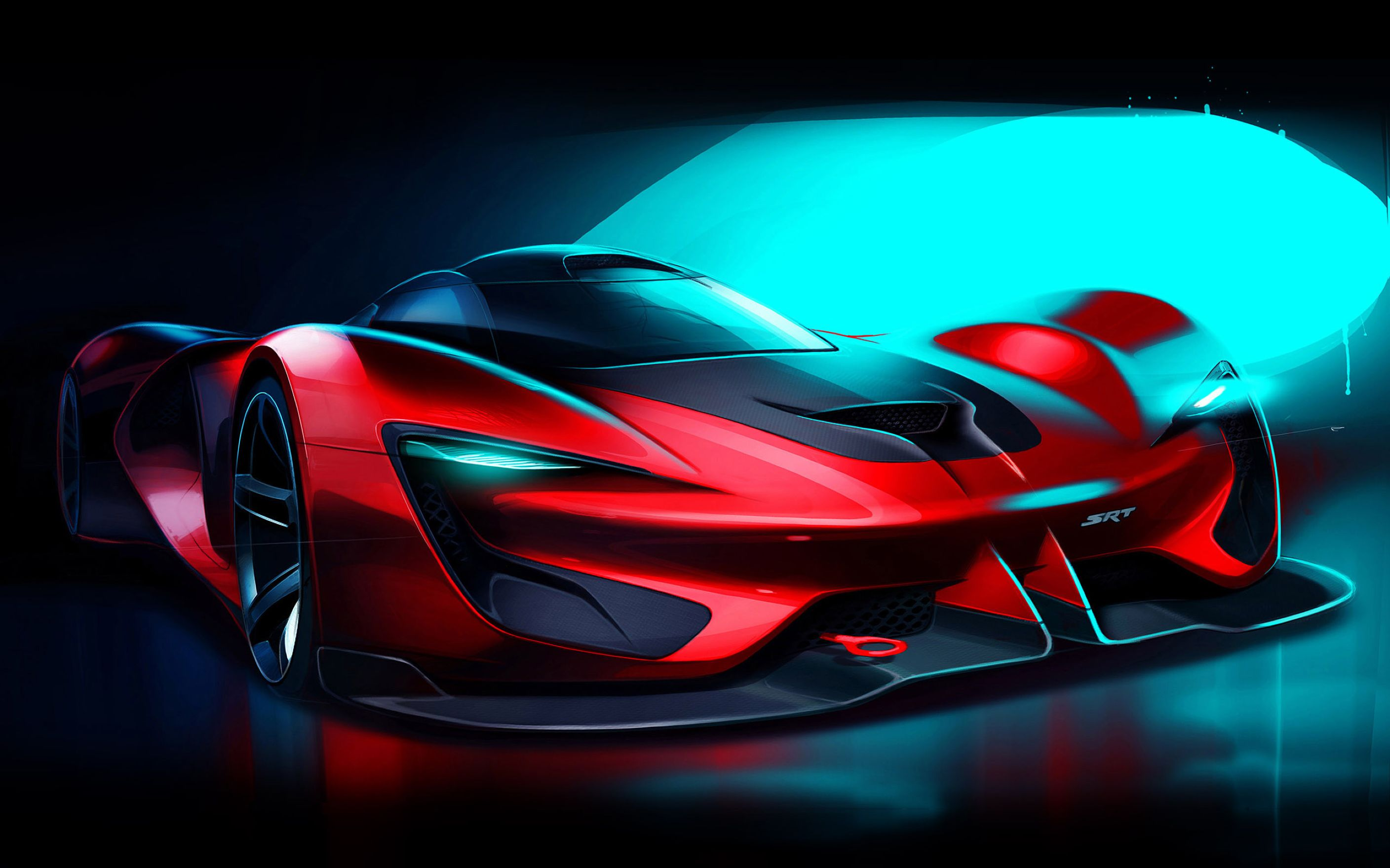 Download free HD 2015 SRT Tomahawk Vision Gran Turismo Wide Wallpaper, image