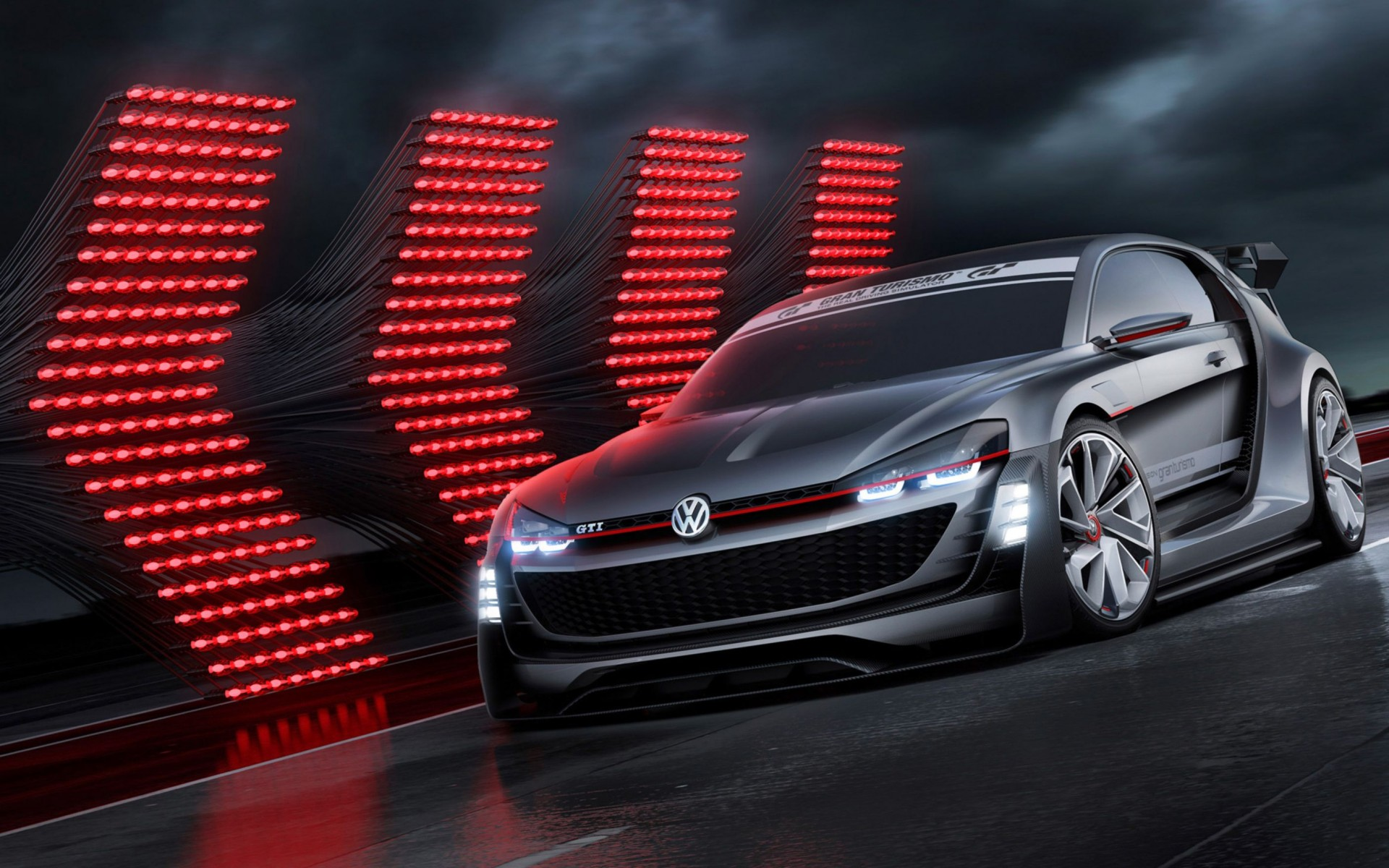2015 Volkswagen Gti Supersport Vision Gran Turismo Concept Wide Wallpaper