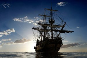 Sailing Ship Ocean Wallpaper