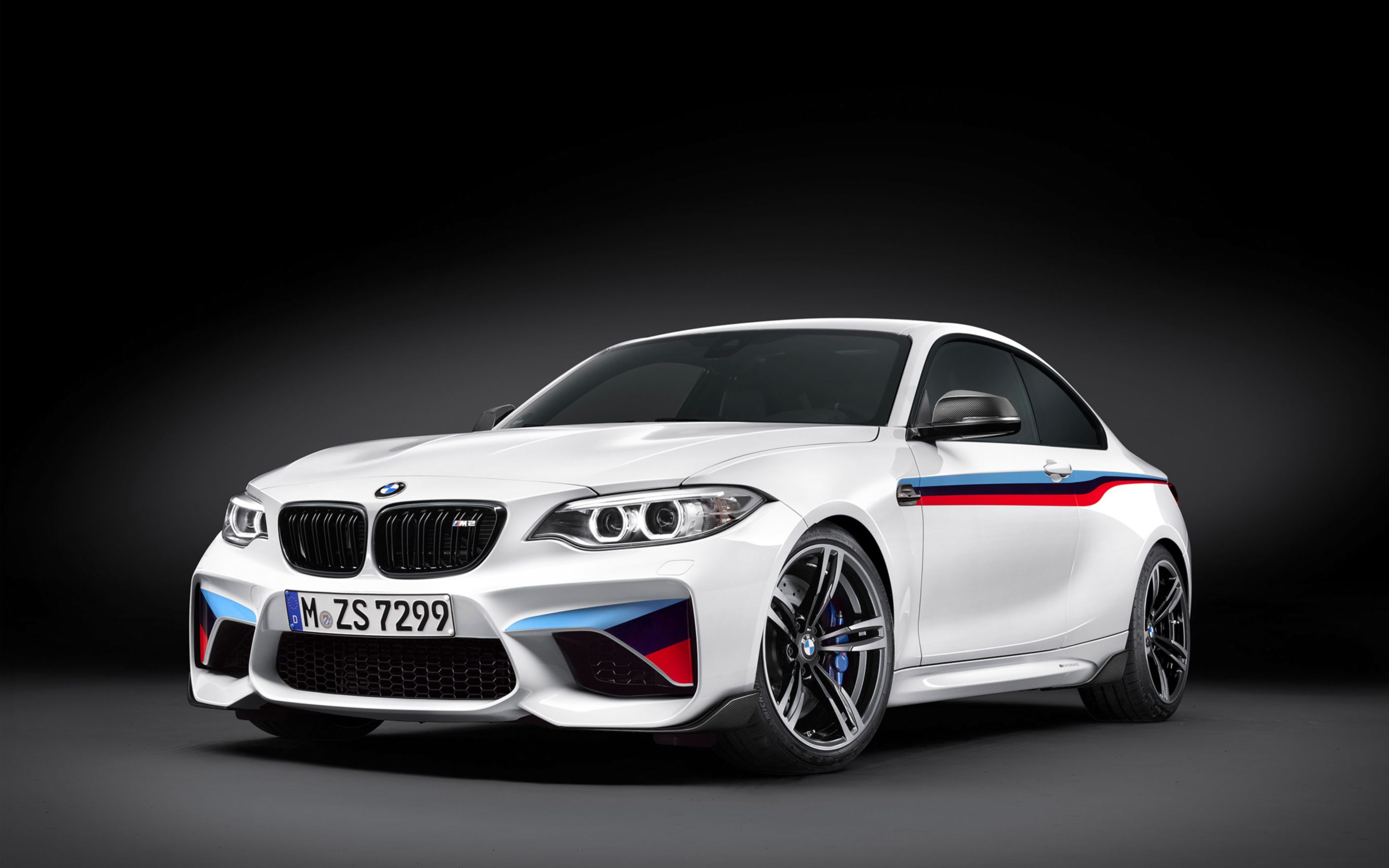 Download free HD 2016 BMW M2 Coupe M Performance Parts Wide Wallpaper, image