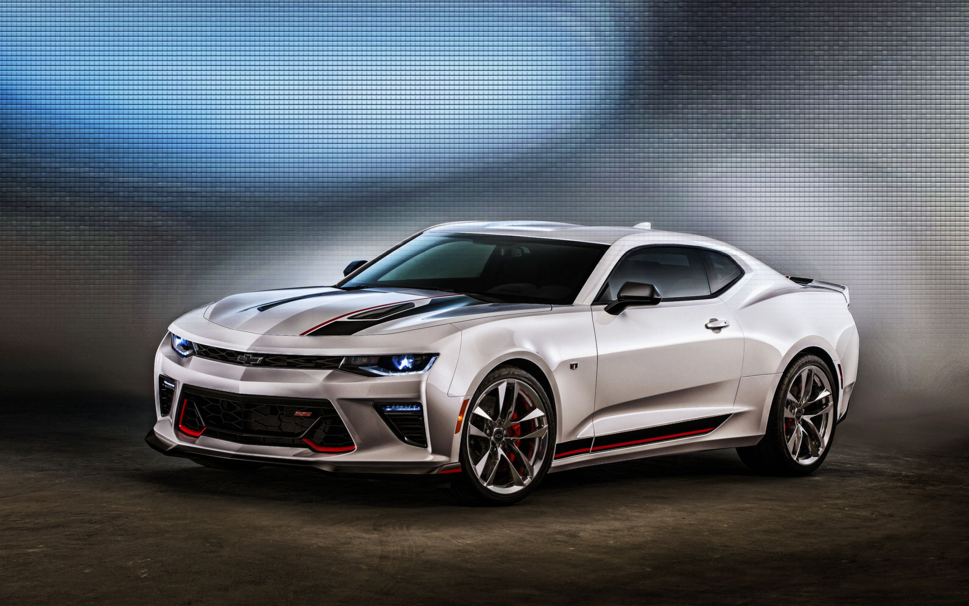 Download free HD 2016 Chevrolet Camaro Ss Concept Wide Wallpaper, image
