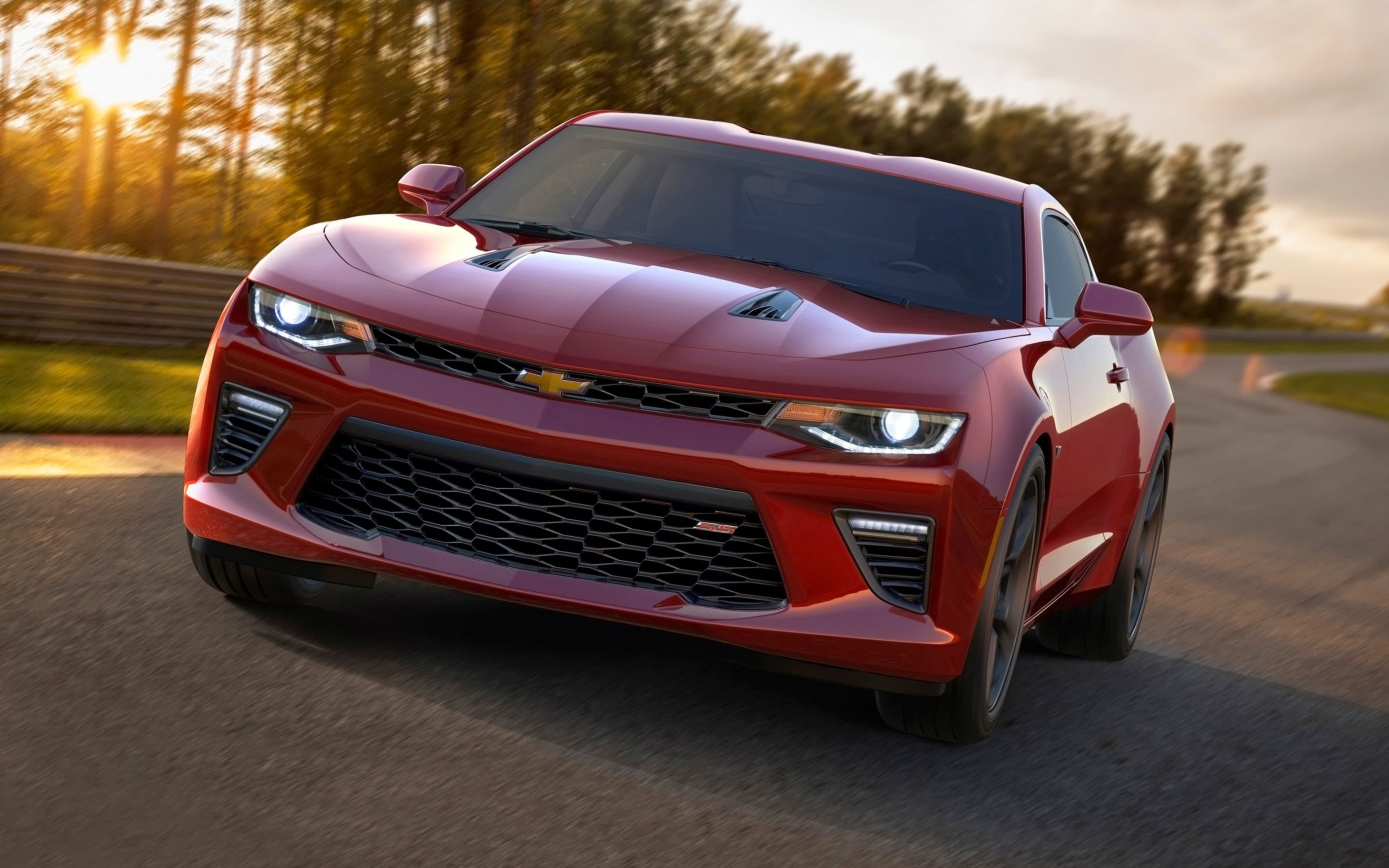 Download free HD 2016 Chevrolet Camaro Ss Wide Wallpaper, image