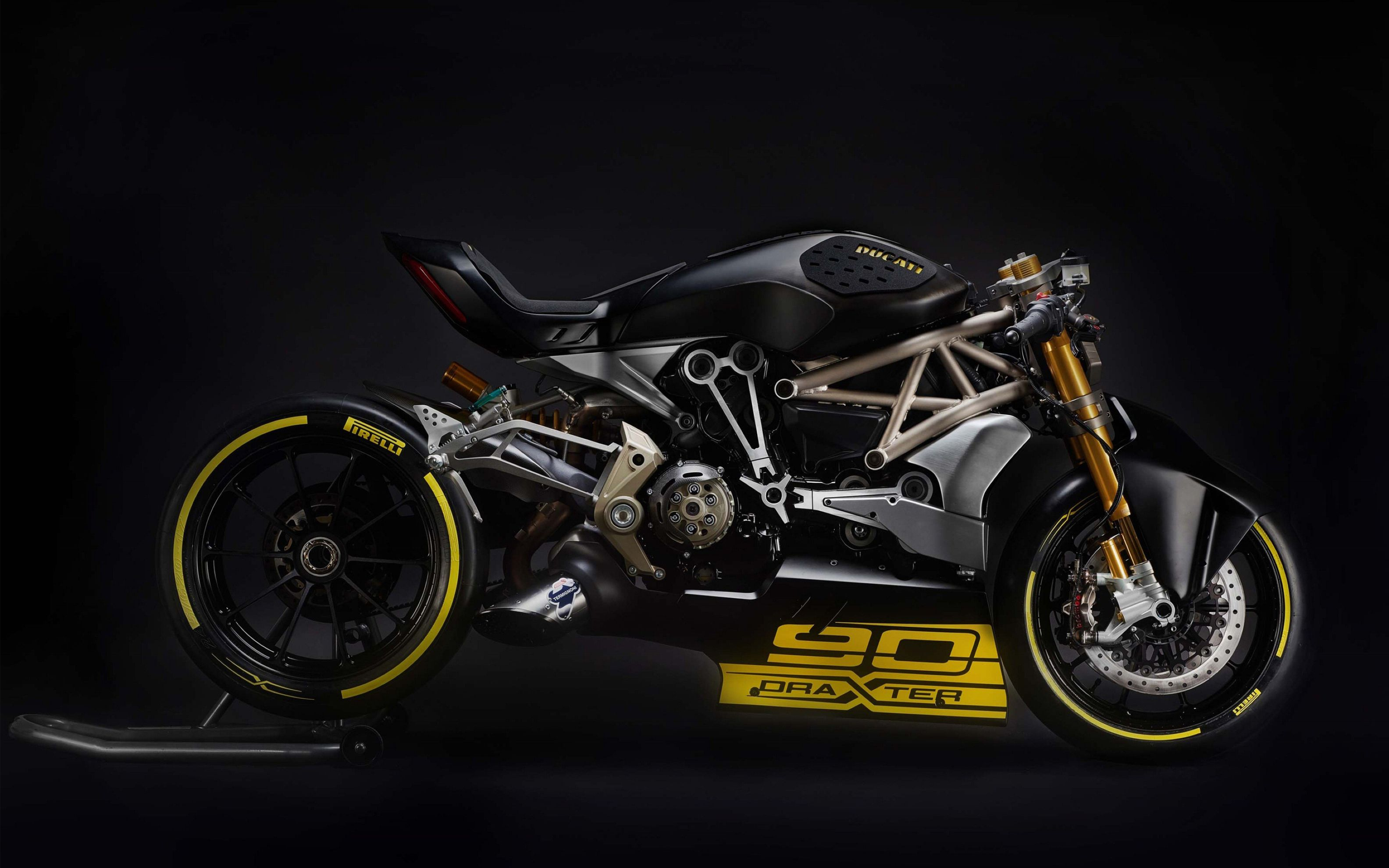 Download free HD 2016 Ducati Draxter Wide Wallpaper, image
