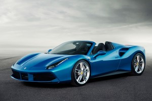 2016 Ferrari 488 Spider Wide Wallpaper