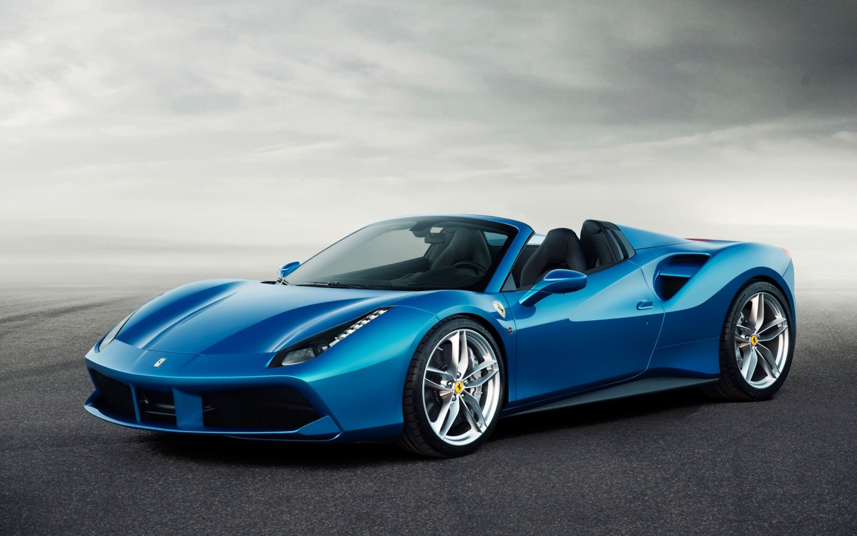 Download free HD 2016 Ferrari 488 Spider Wide Wallpaper, image
