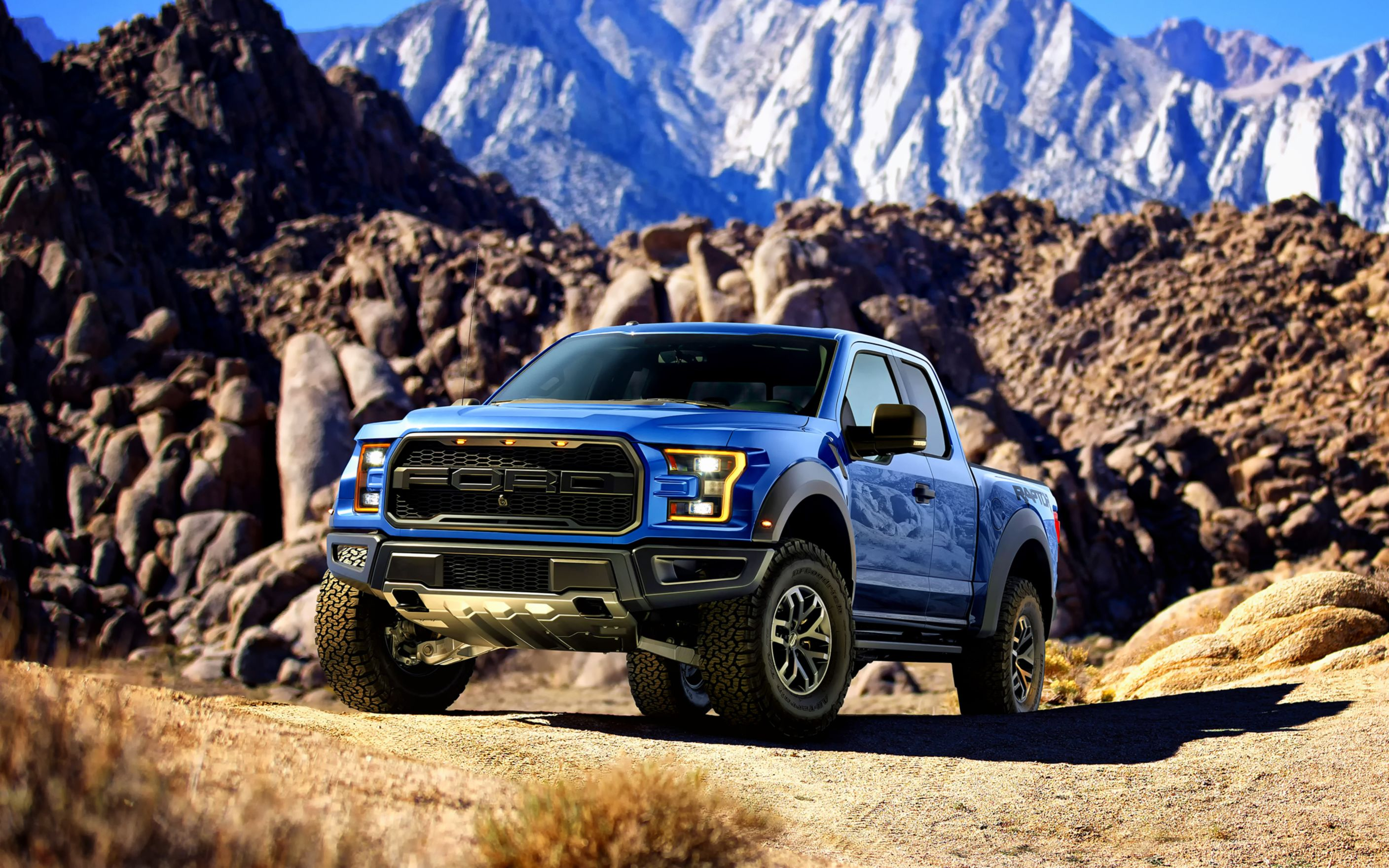 Download free HD 2016 Ford F 150 Raptor Wide Wallpaper, image