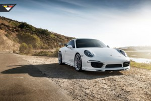 2016 Porsche 991 Carrera S Vorsteiner V GT Aero Program Wide Wallpaper